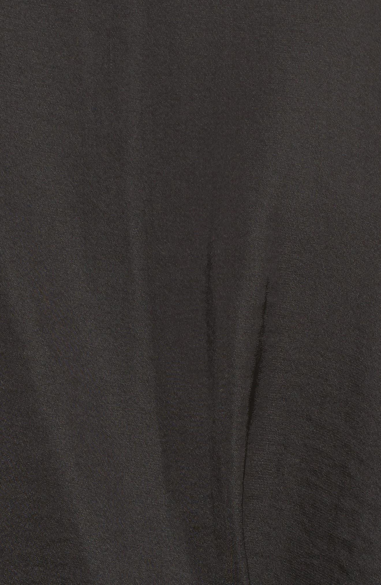Colette Wrap,                             Alternate thumbnail 6, color,                             Black