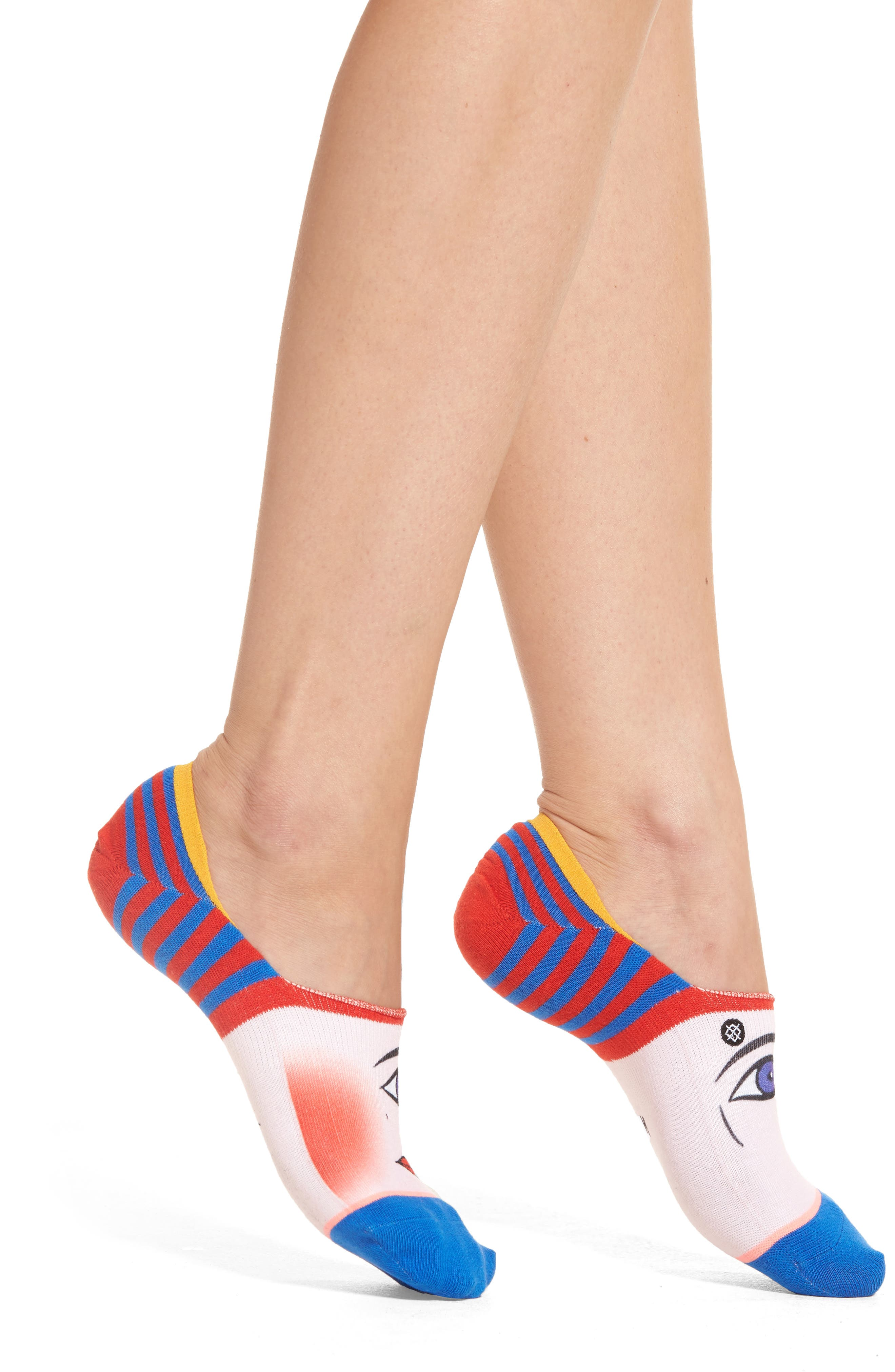 Alternate Image 2  - Stance x Libertine Head Over Heels Super Invisible Socks