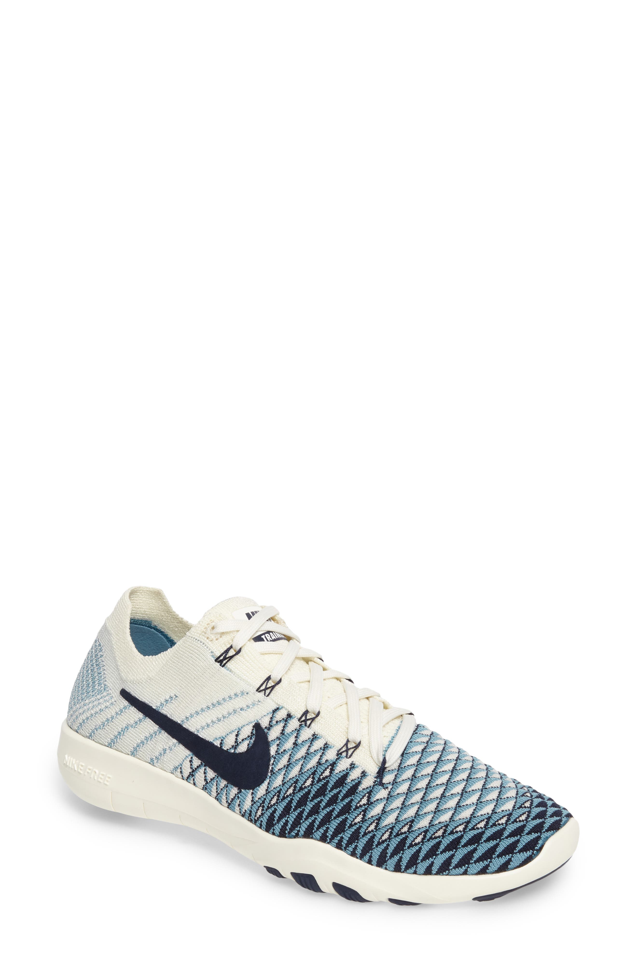 Main Image - Nike Free TR Flyknit 2 Training Shoe (Women)