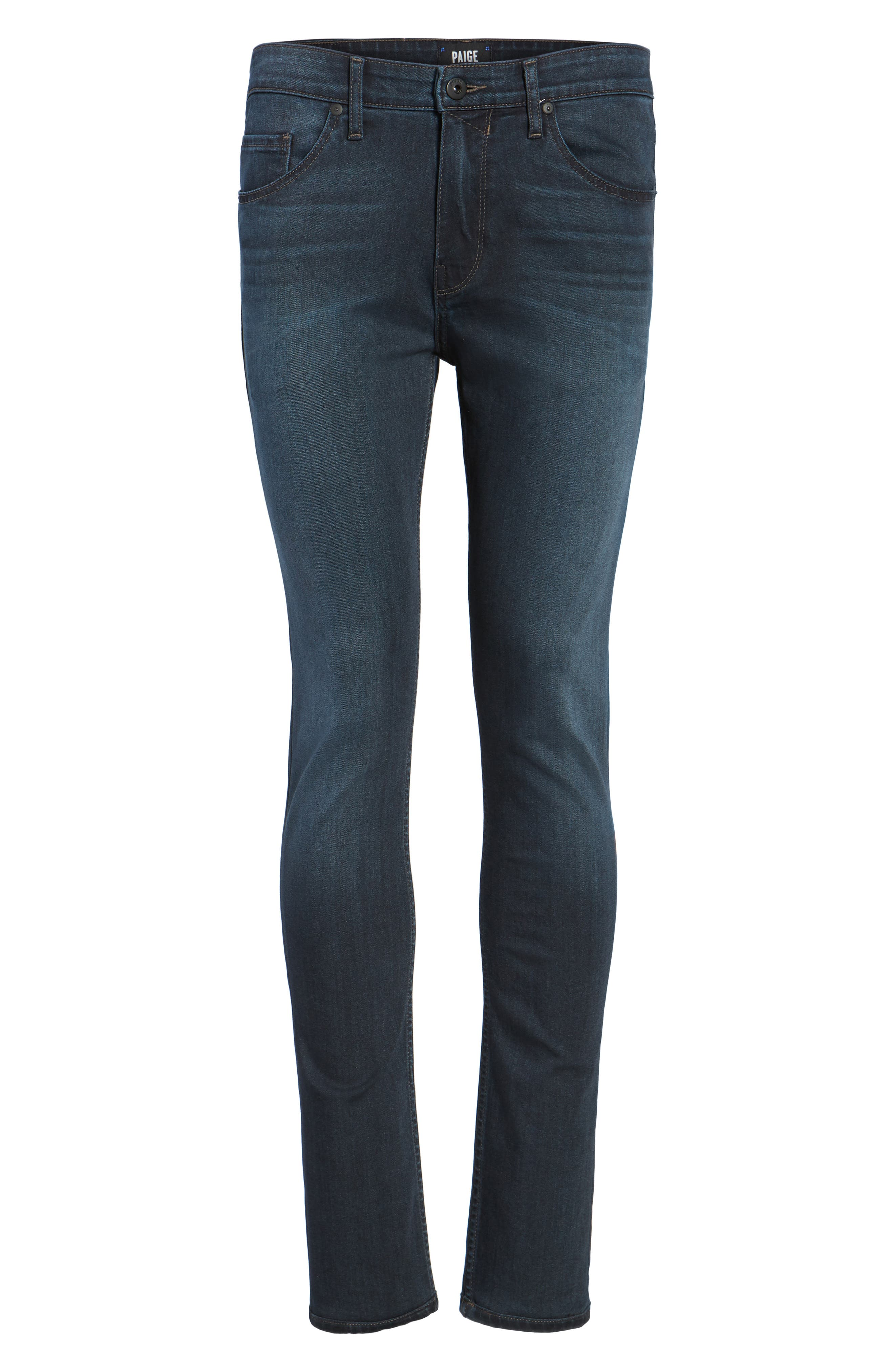 Croft Skinny Fit Jeans,                             Alternate thumbnail 6, color,                             Cecil