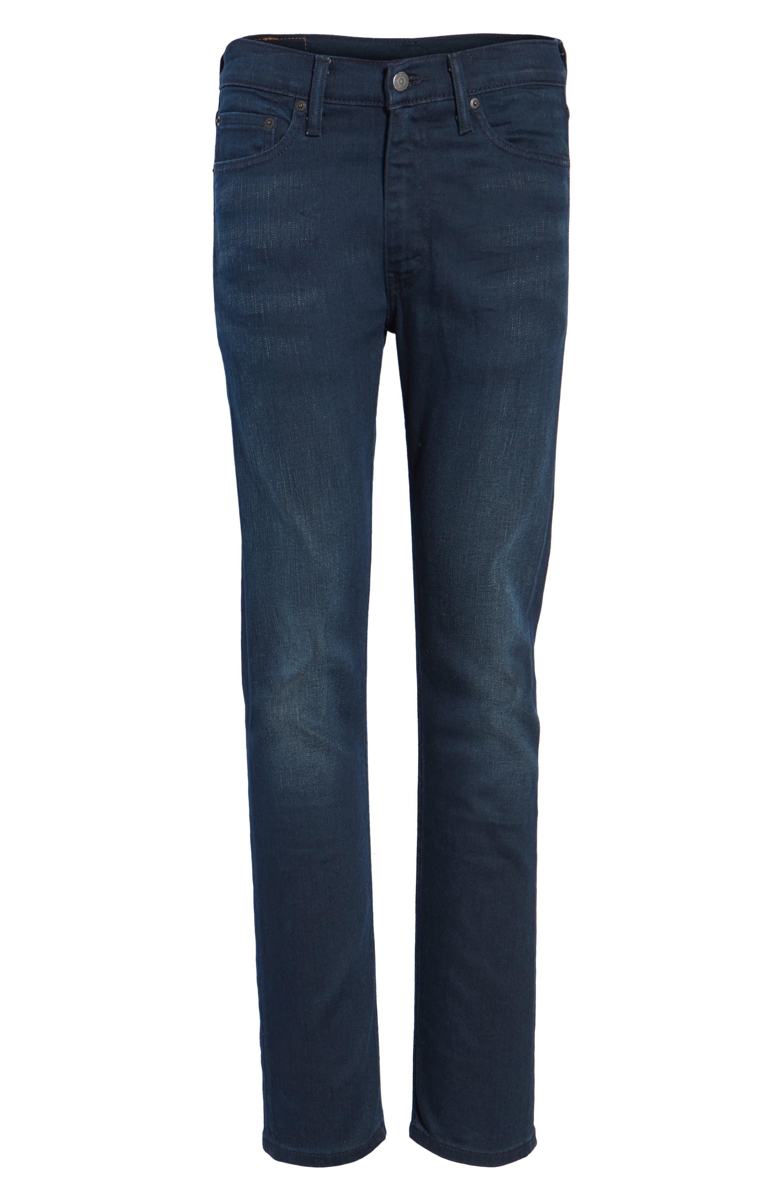 513<sup>™</sup> Slim Straight Leg Jeans,                             Alternate thumbnail 6, color,                             Lurker