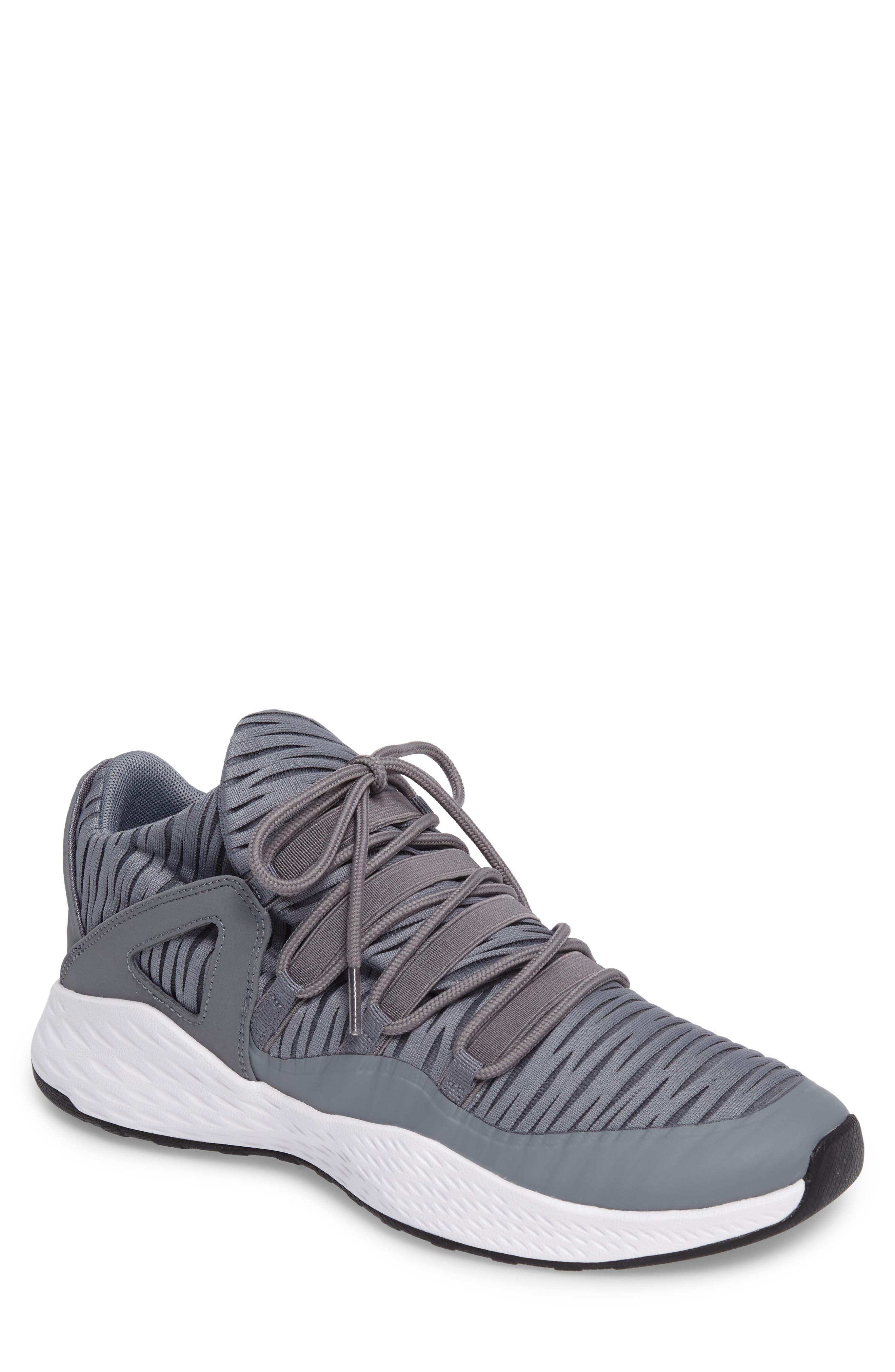 Jordan Formula 23 Low Sneaker,                             Main thumbnail 1, color,                             Cool Grey/ White/ Black