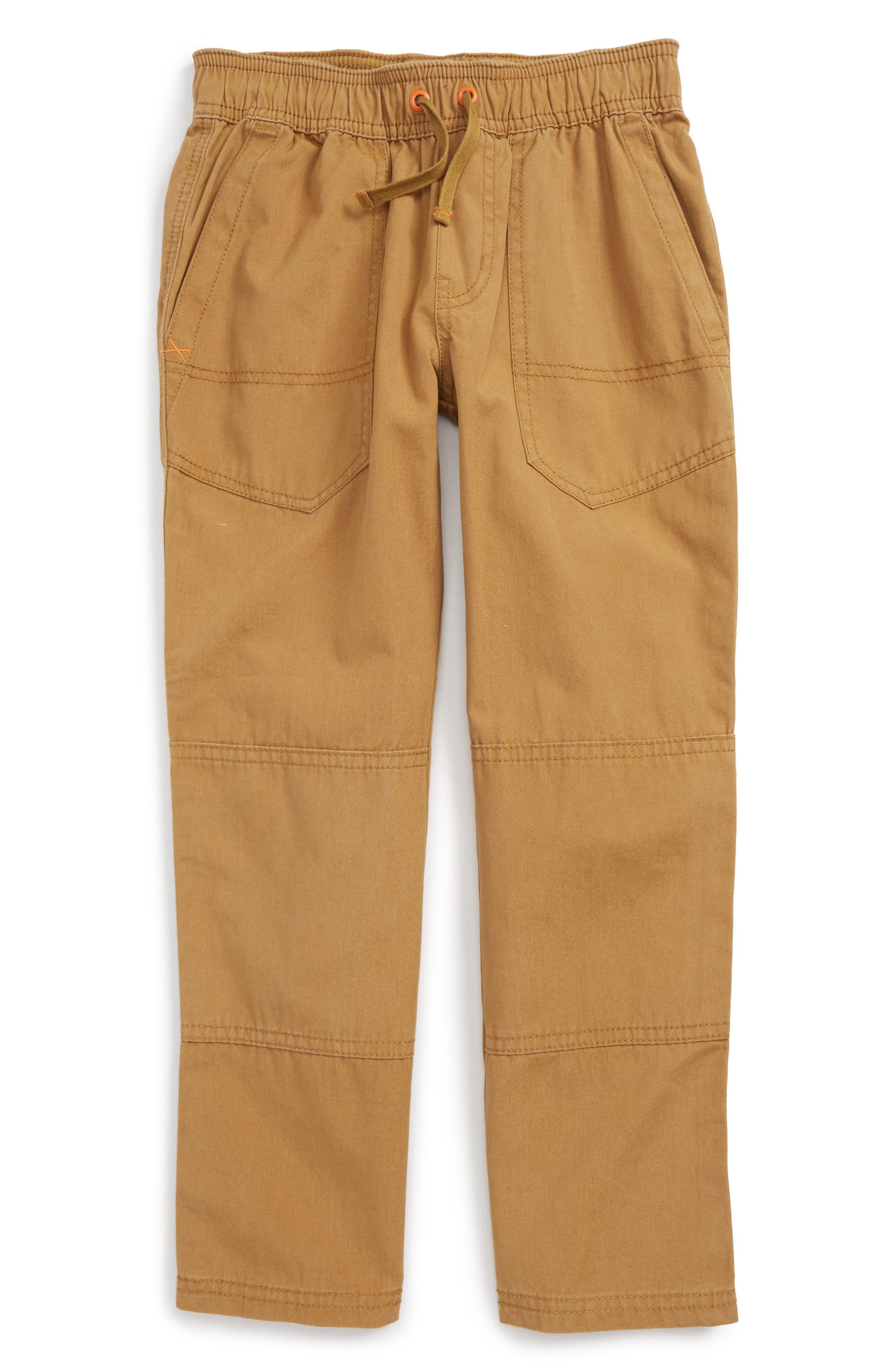 Tea Collection Canvas Explorer Pants (Toddler Boys & Little Boys)