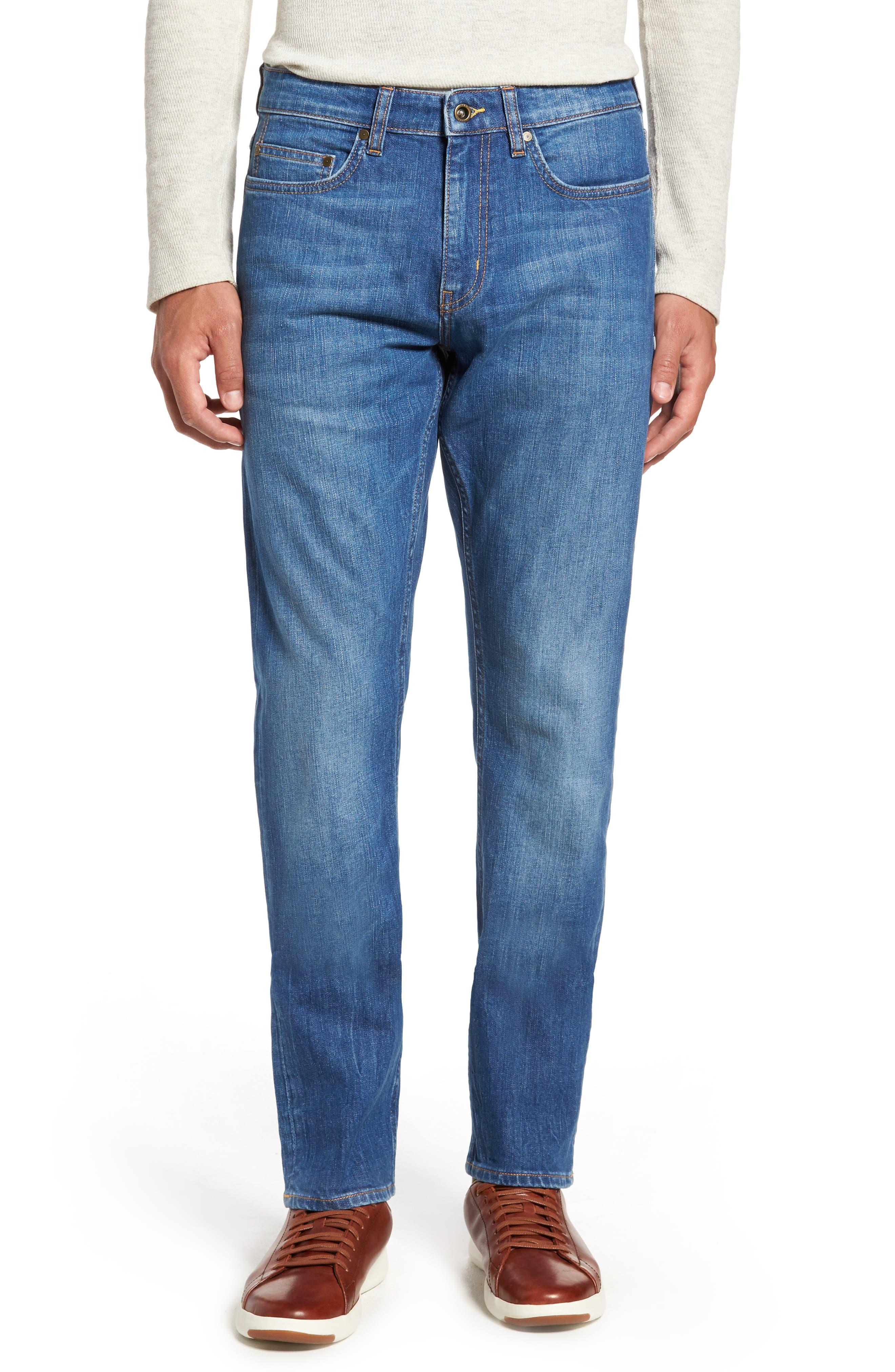 Cranfield Straight Leg Jeans,                             Main thumbnail 1, color,                             Denim