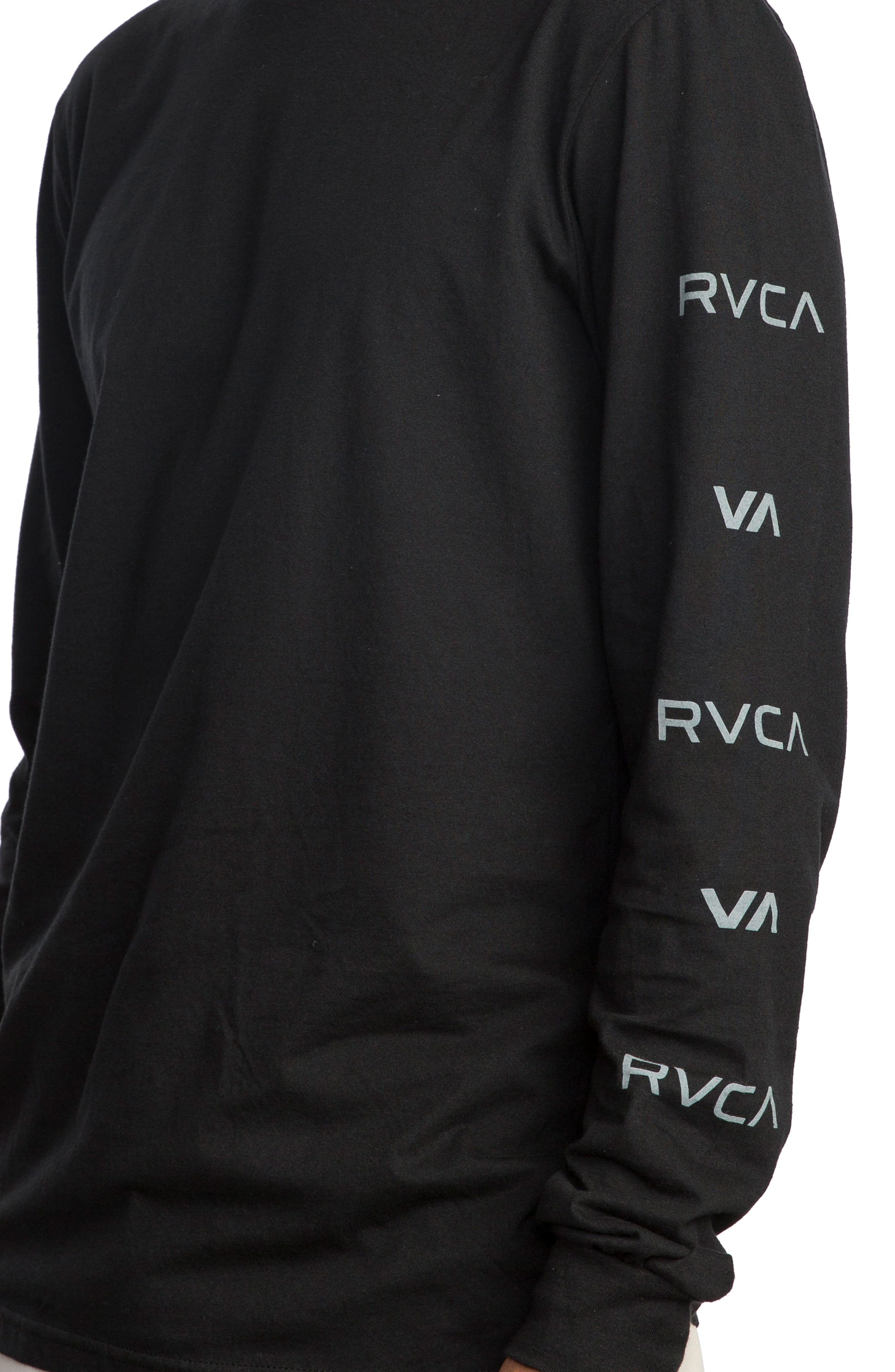 Alternate Image 4  - RVCA Brand Stack Graphic T-Shirt