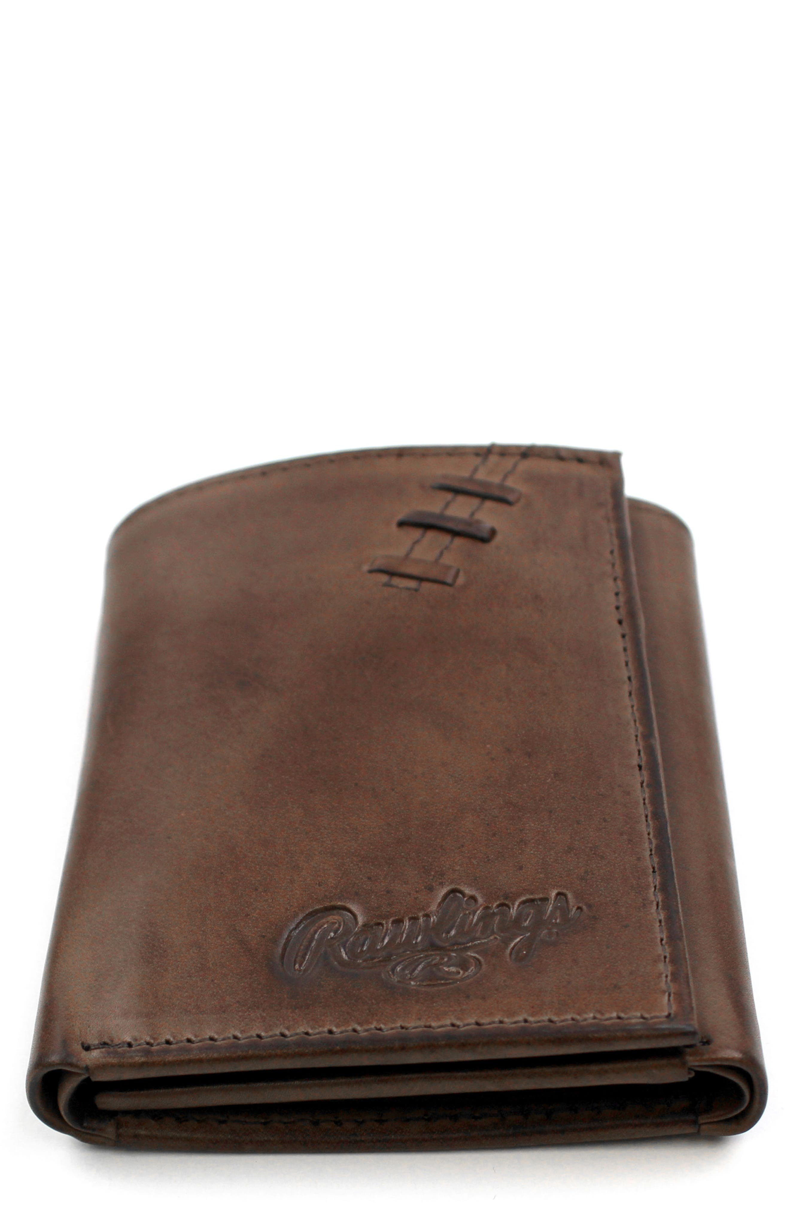 Legacy Leather Wallet,                             Main thumbnail 1, color,                             Brown