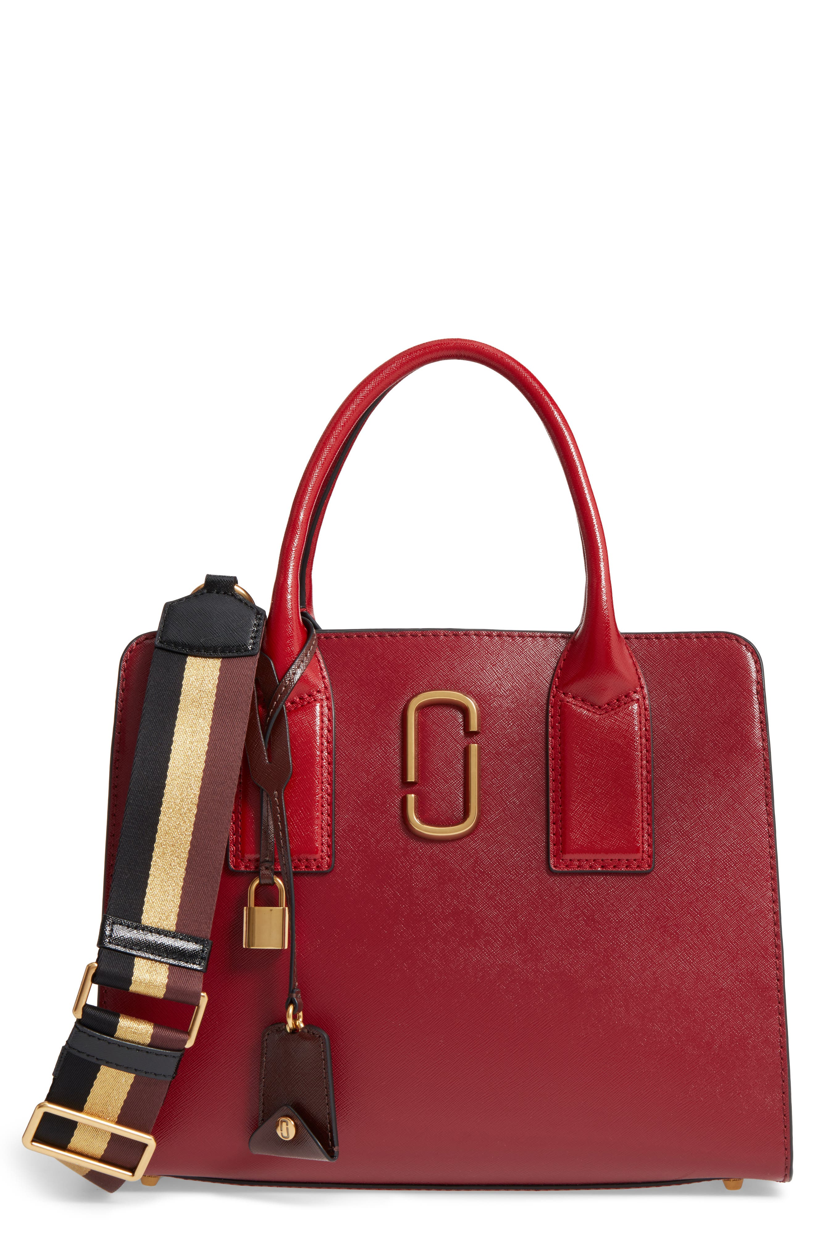 MARC JACOBS Big Shot Leather Tote