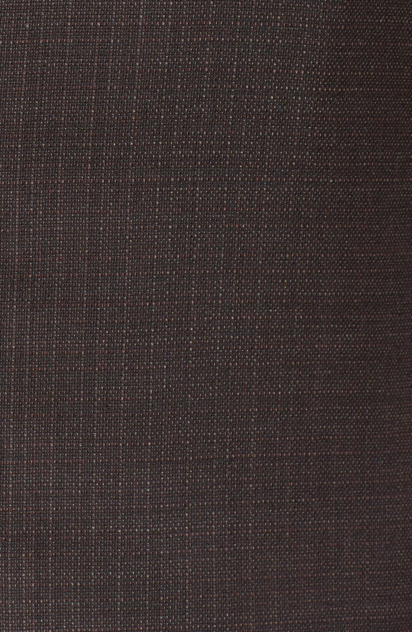 Alternate Image 5  - Hickey Freeman Classic B Fit Wool Blazer
