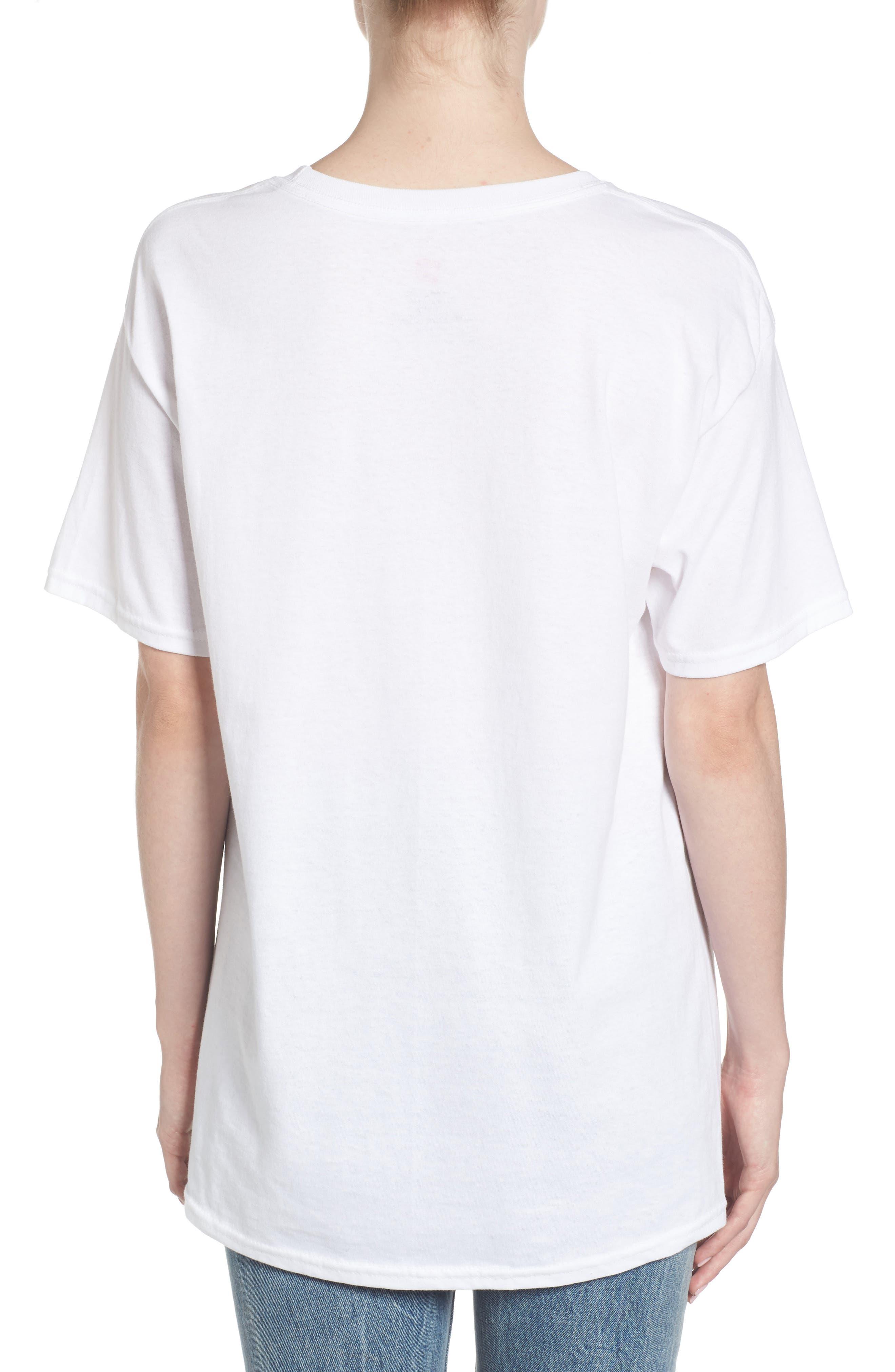 Michael Jackson T-Shirt,                             Alternate thumbnail 4, color,                             White