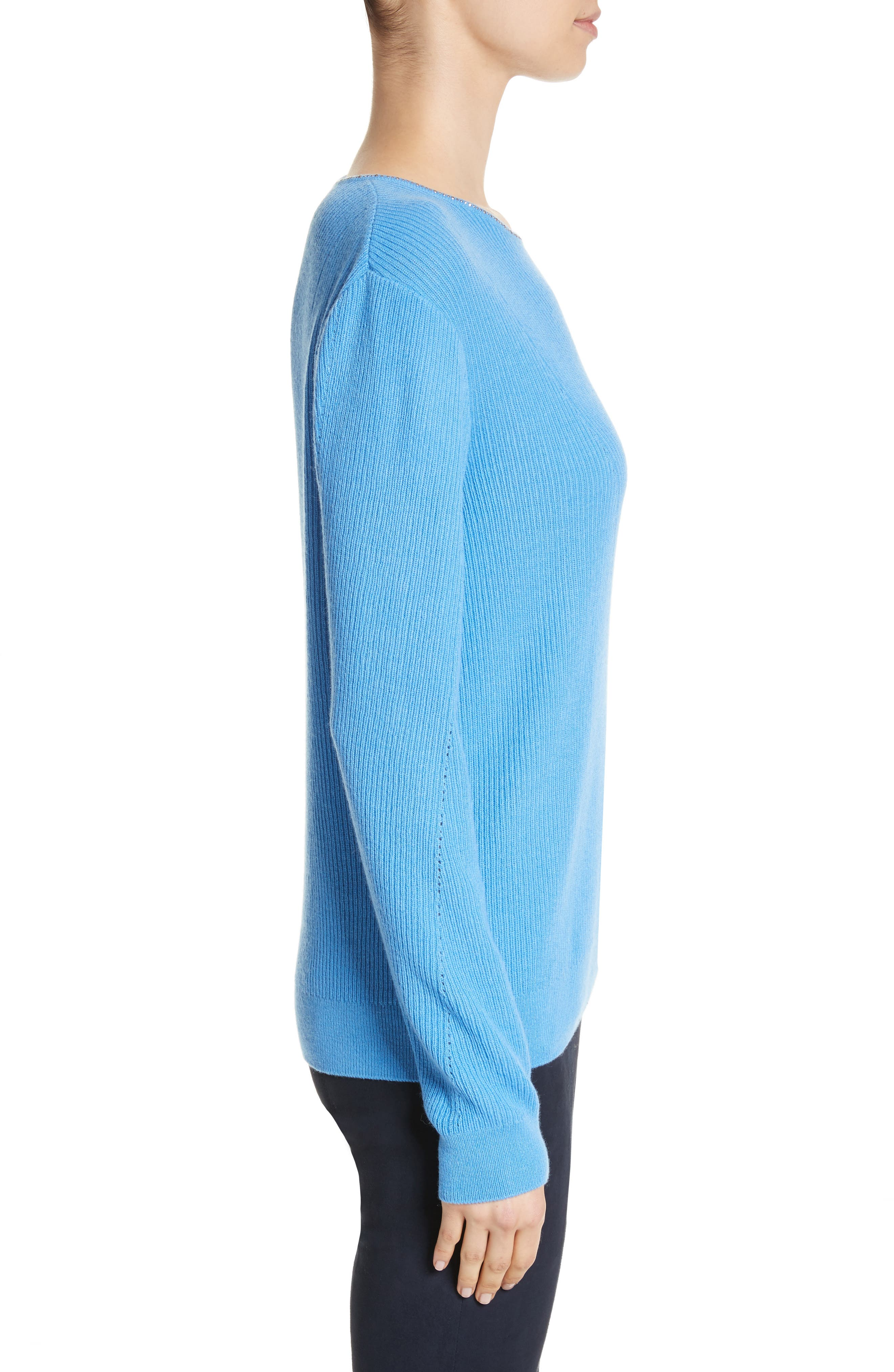 Alternate Image 3  - St. John Collection Cashmere Sweater