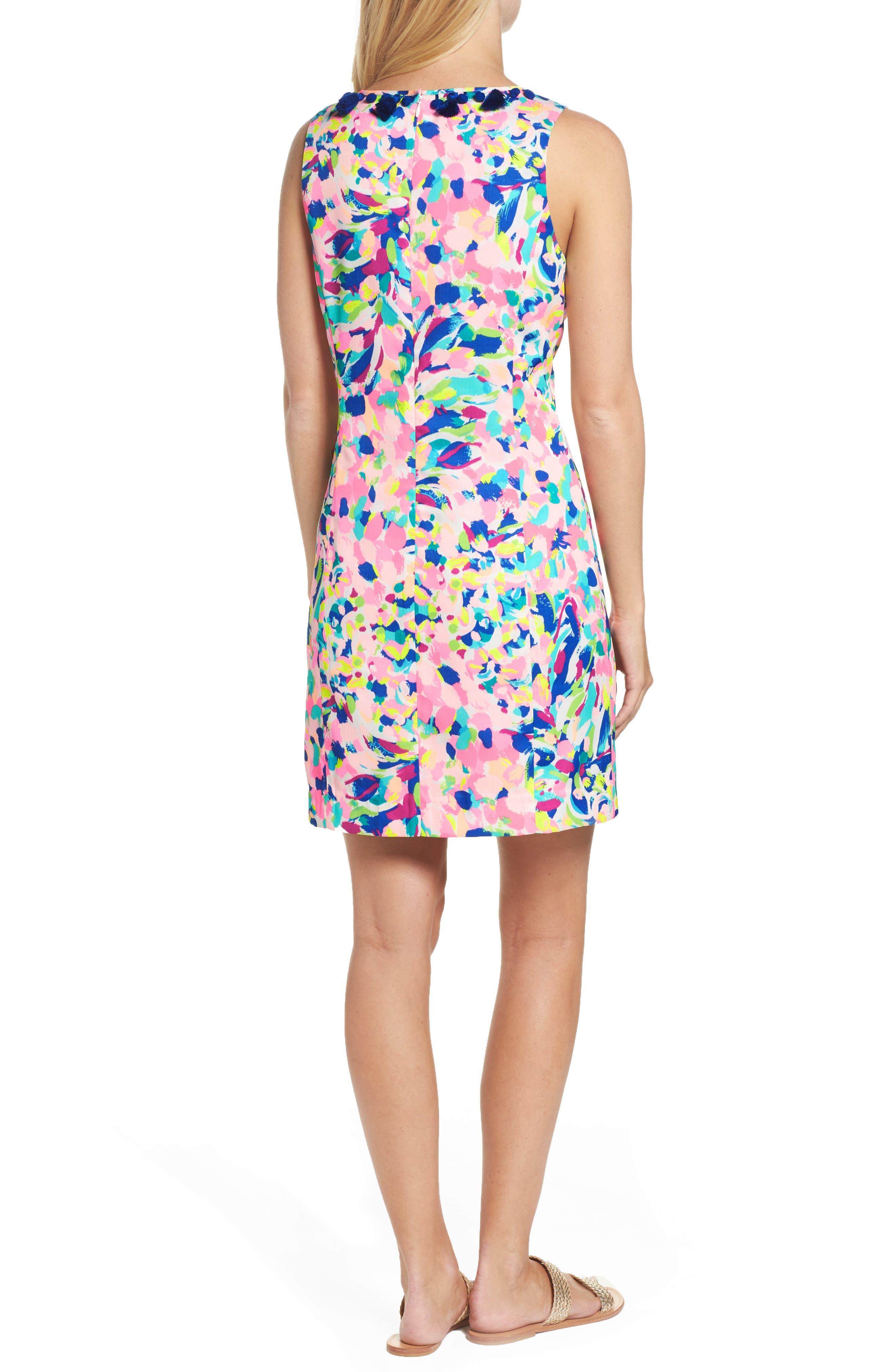 Cabrey Sheath Dress,                             Alternate thumbnail 2, color,                             Multi Pina Colada Club