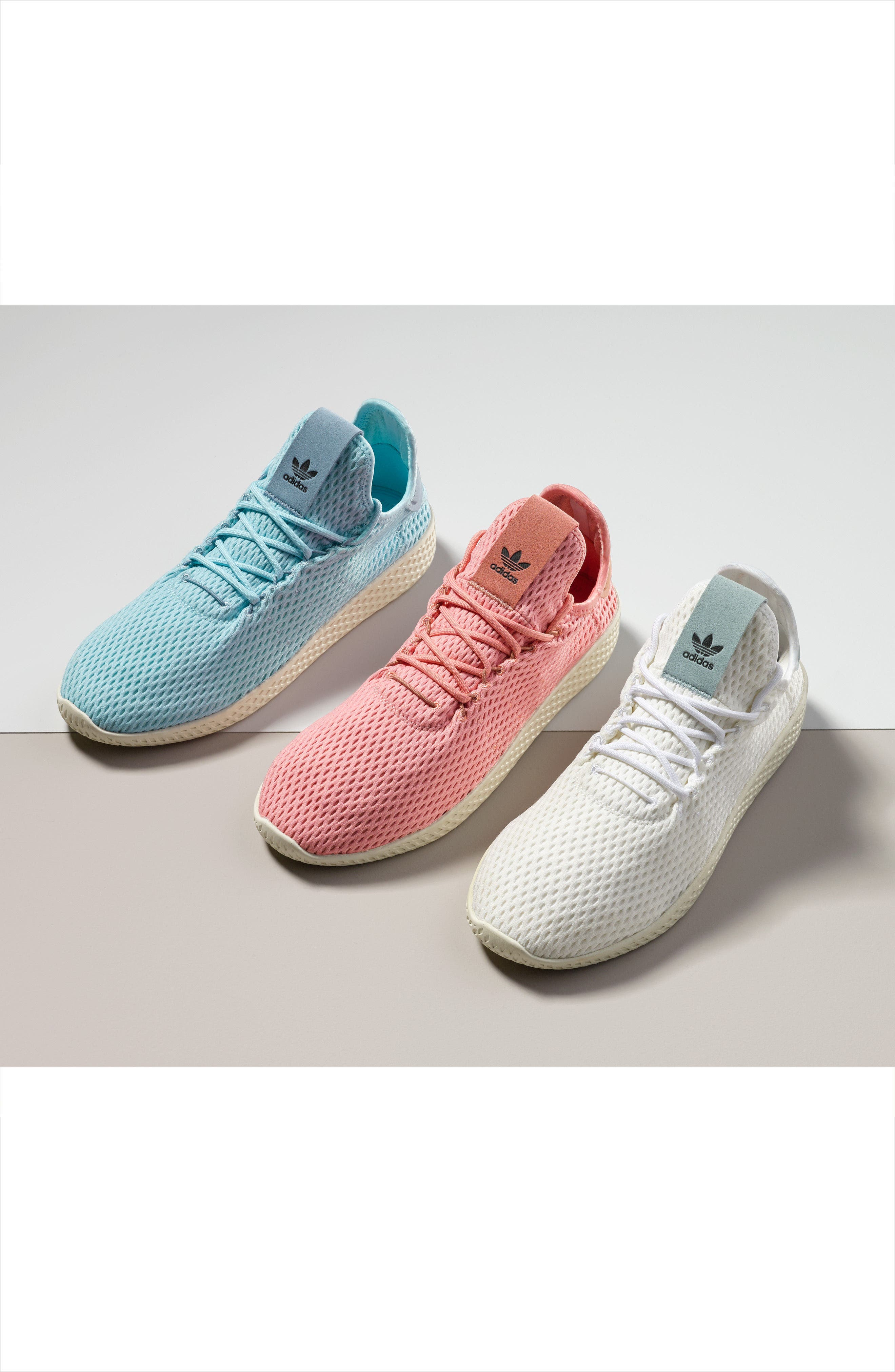 Alternate Image 7  - adidas Originals x Pharrell Williams Mesh Sneaker (Men)
