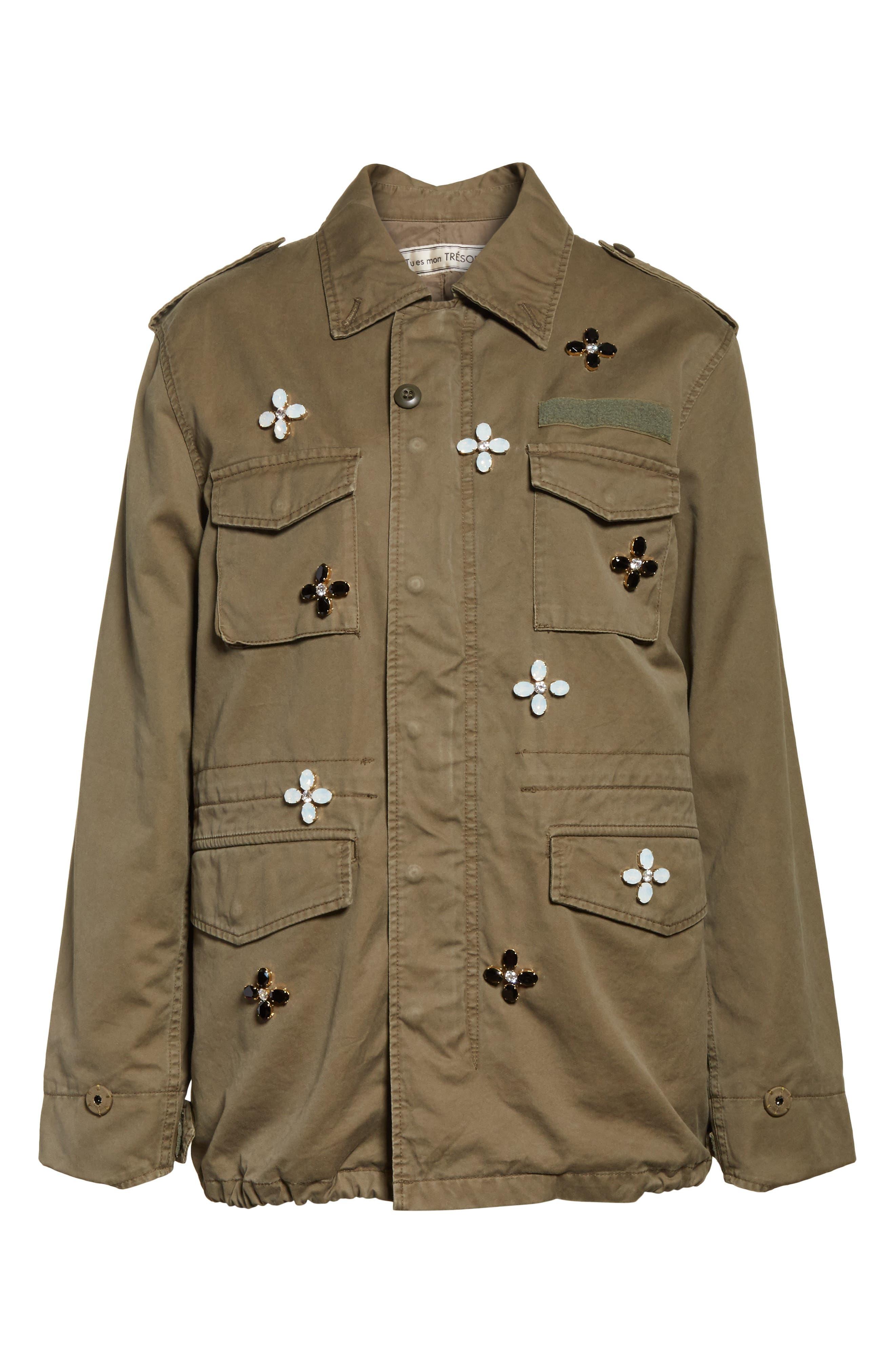 Alternate Image 6  - Tu es mon TRÉSOR Bijou Flower Field Jacket