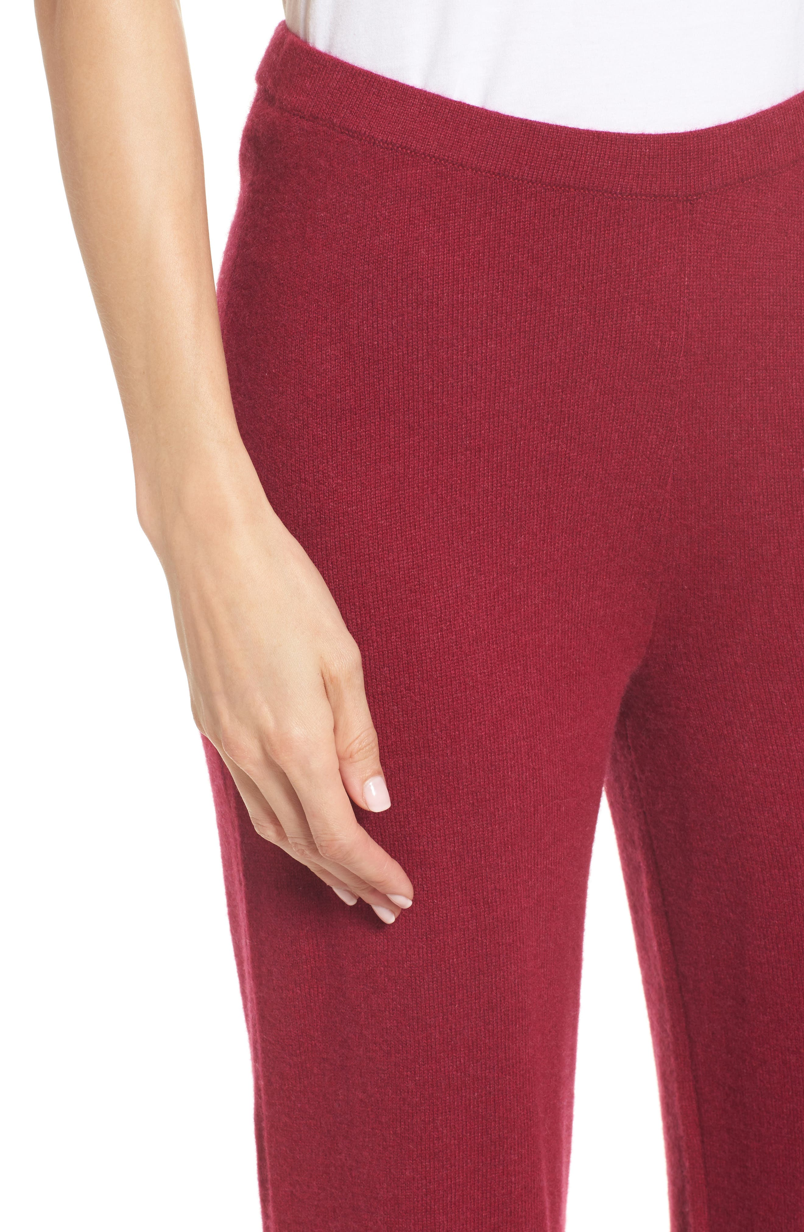Alternate Image 4  - Eileen Fisher Knit Cashmere Ankle Pants