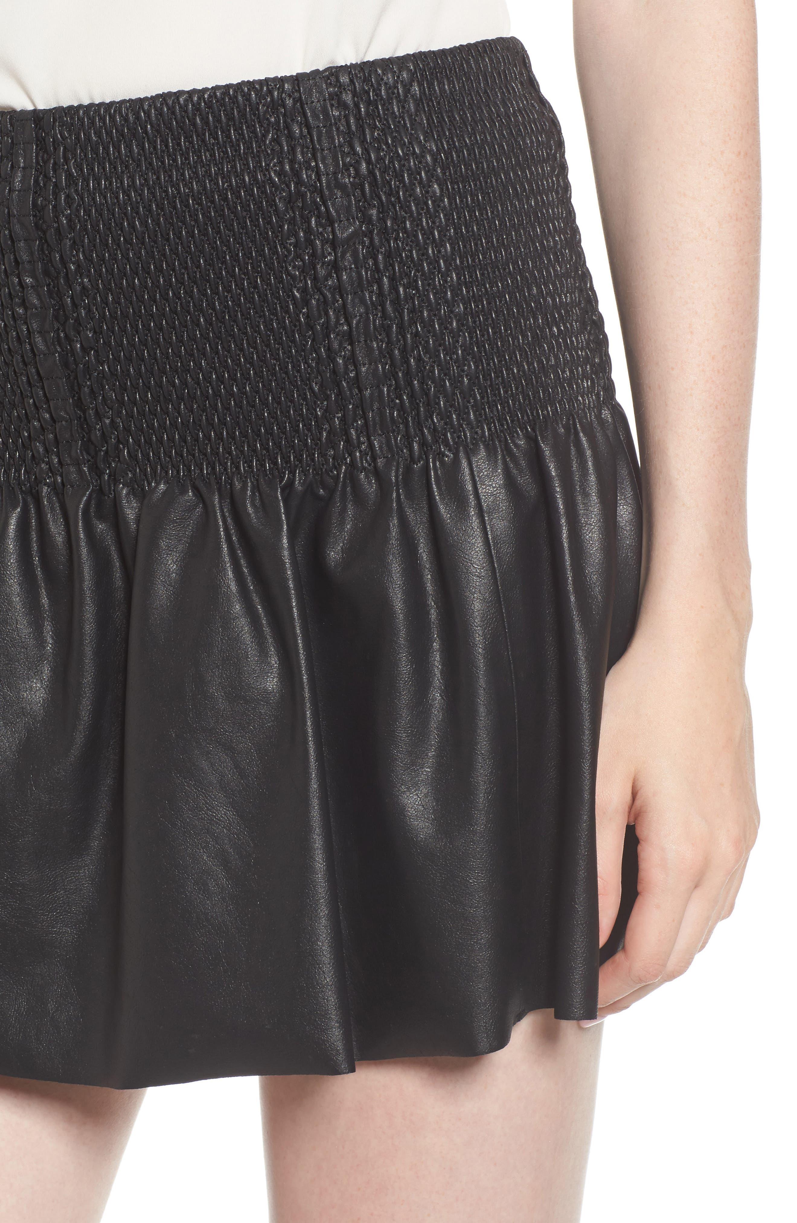 Alternate Image 4  - Ella Moss Geela Smocked Skirt