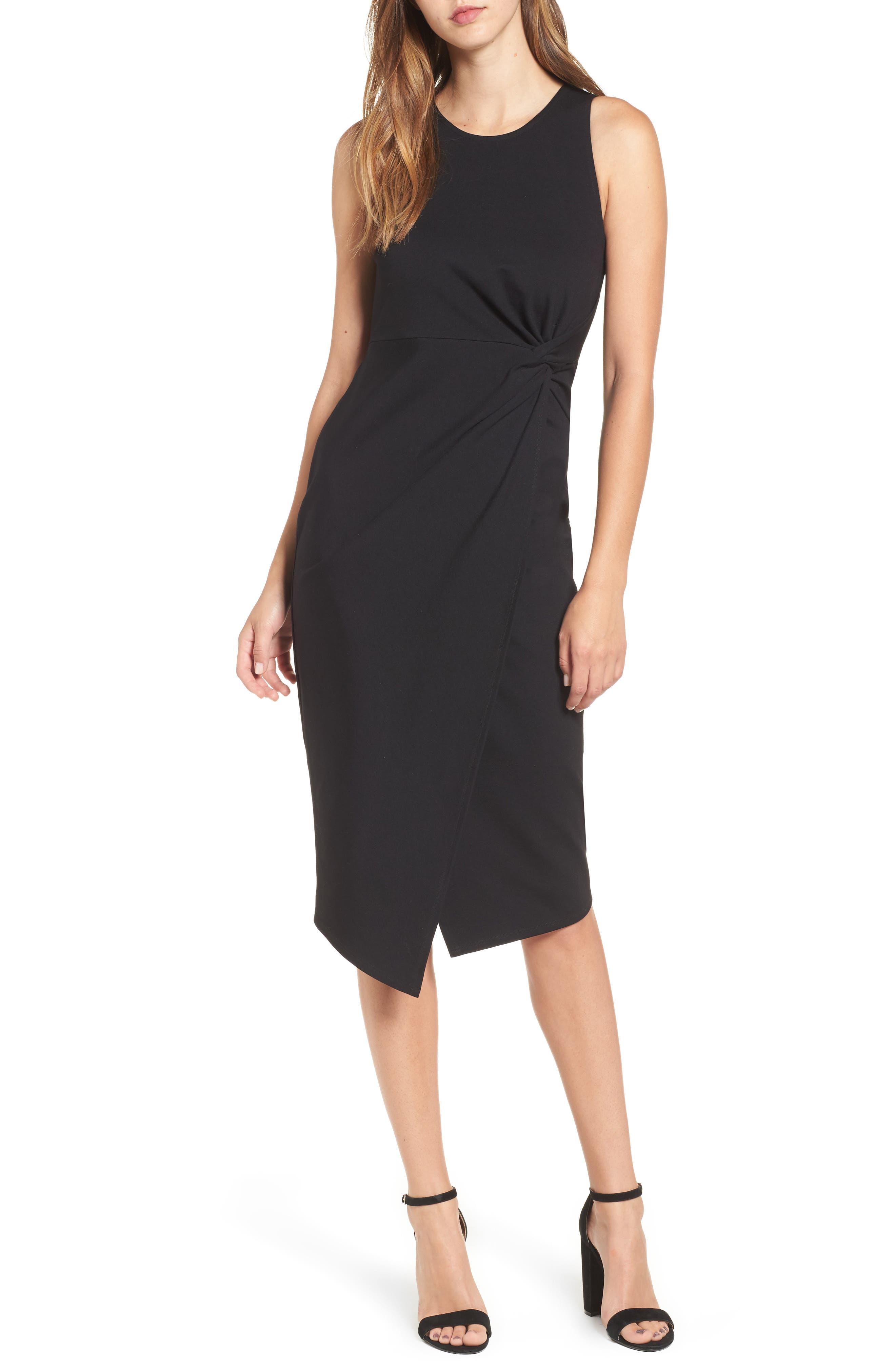 Main Image - Leith Knot Front Sheath Dress