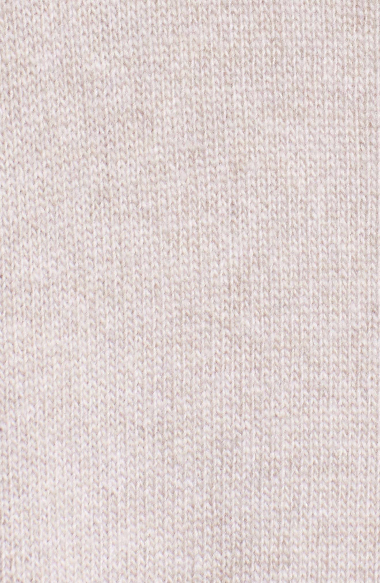 Long Merino Wool & Cashmere Cardigan,                             Alternate thumbnail 5, color,                             Luxor Melange