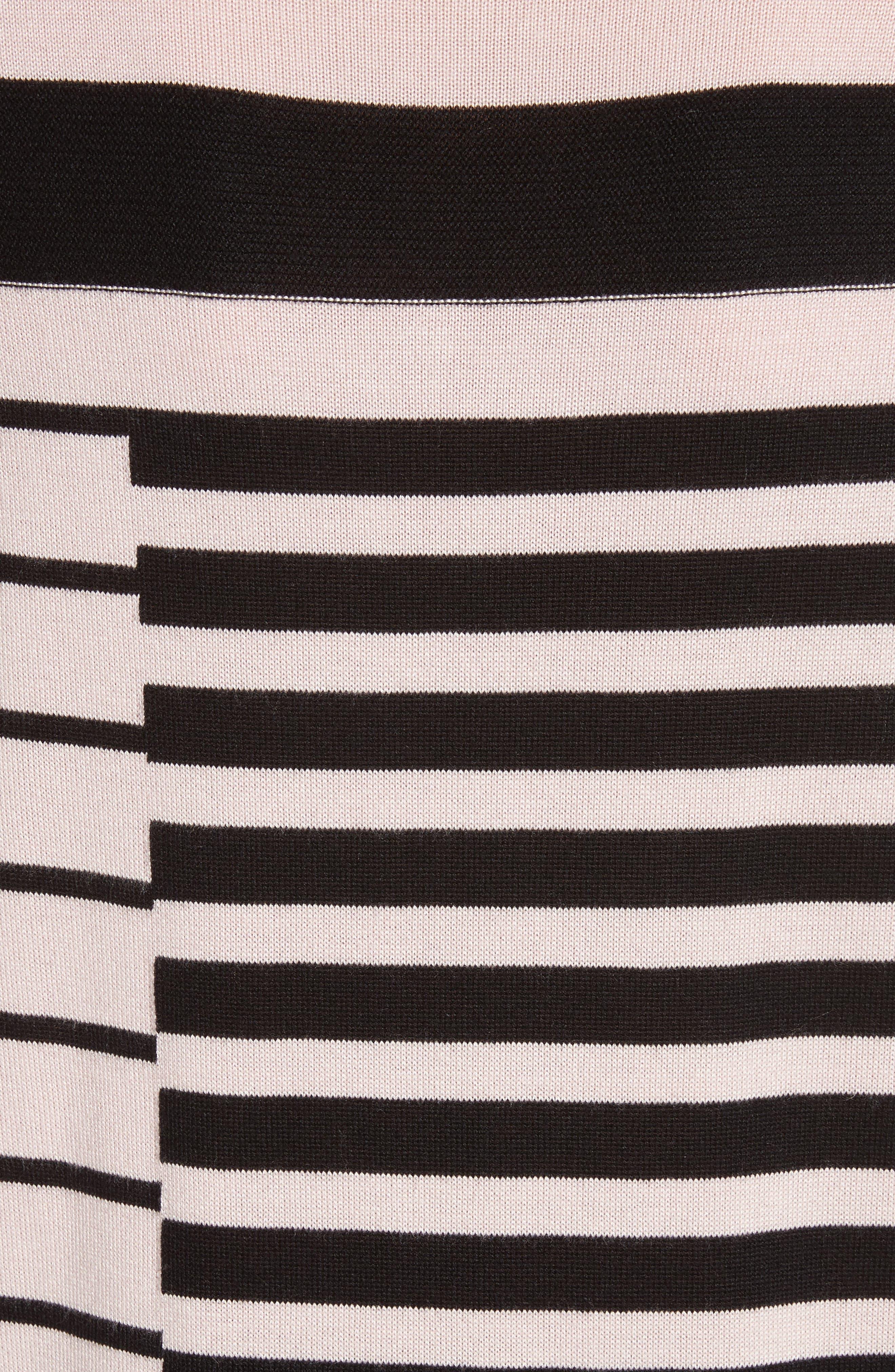 Alternate Image 6  - St. John Collection Intarsia Stripe Sweater