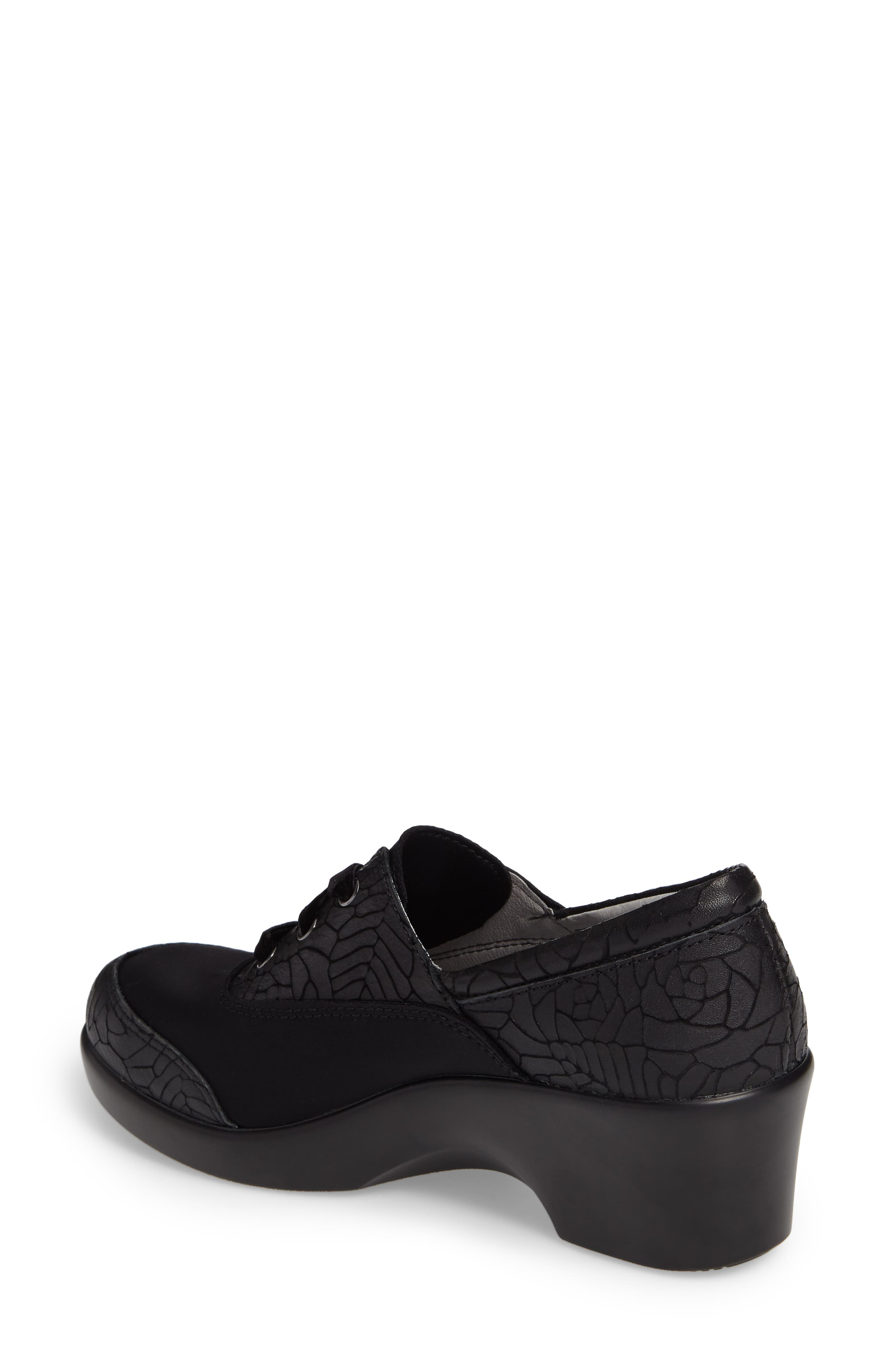 Madi Lace-Up Shoe,                             Alternate thumbnail 2, color,                             Floral Notes Leather