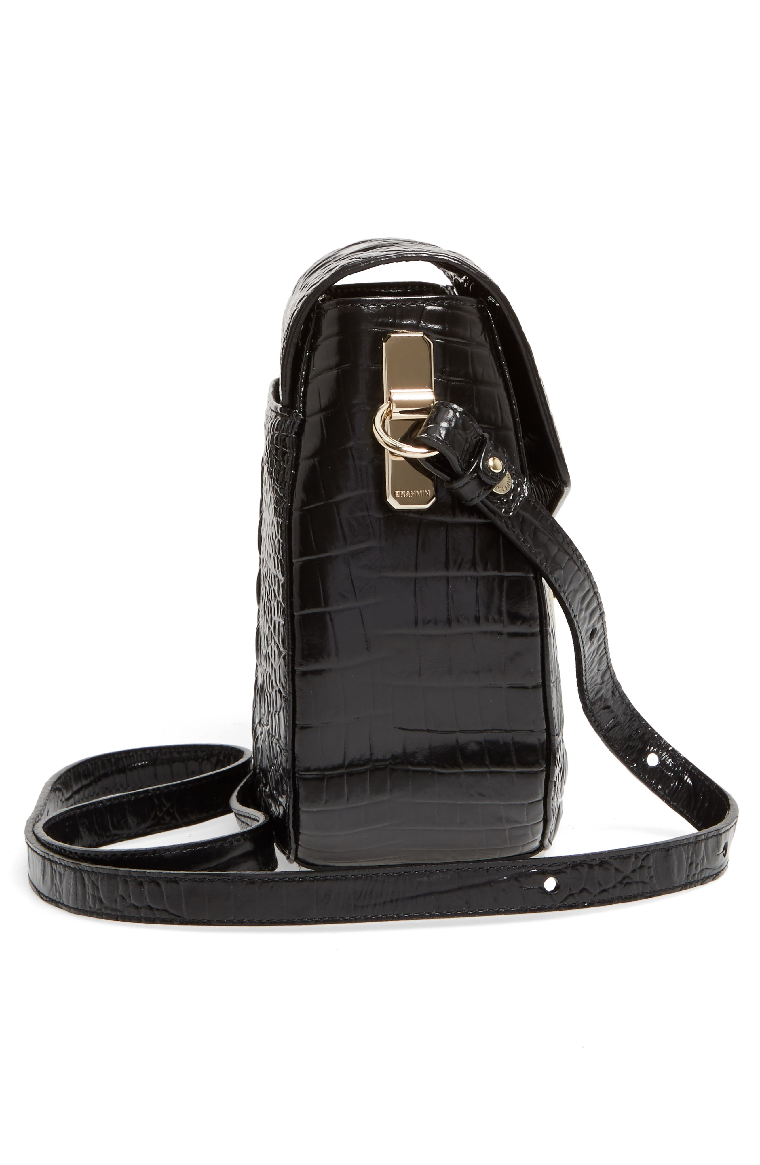 Alternate Image 5  - Brahmin Melbourne - Lizzie Leather Crossbody Bag