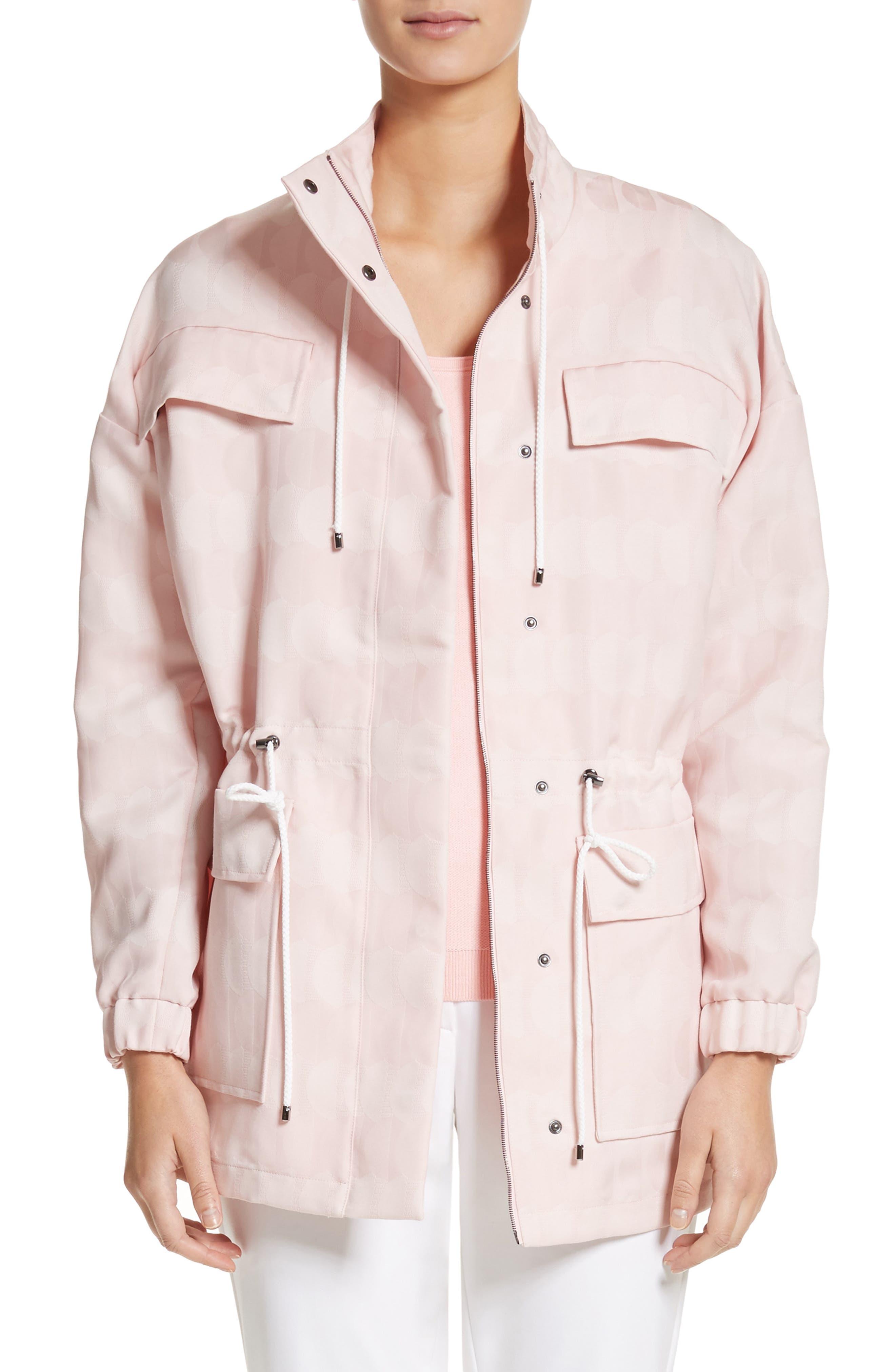 Textured Jacquard Jacket,                         Main,                         color, Blush
