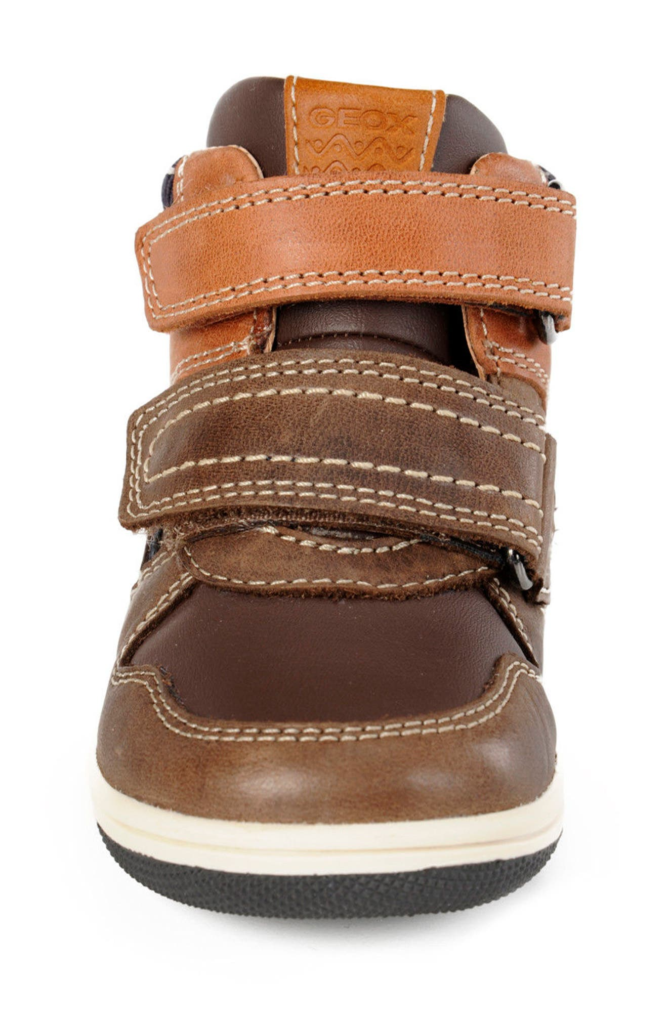 Alternate Image 4  - Geox New Flick Mid Top Sneaker (Walker & Toddler)