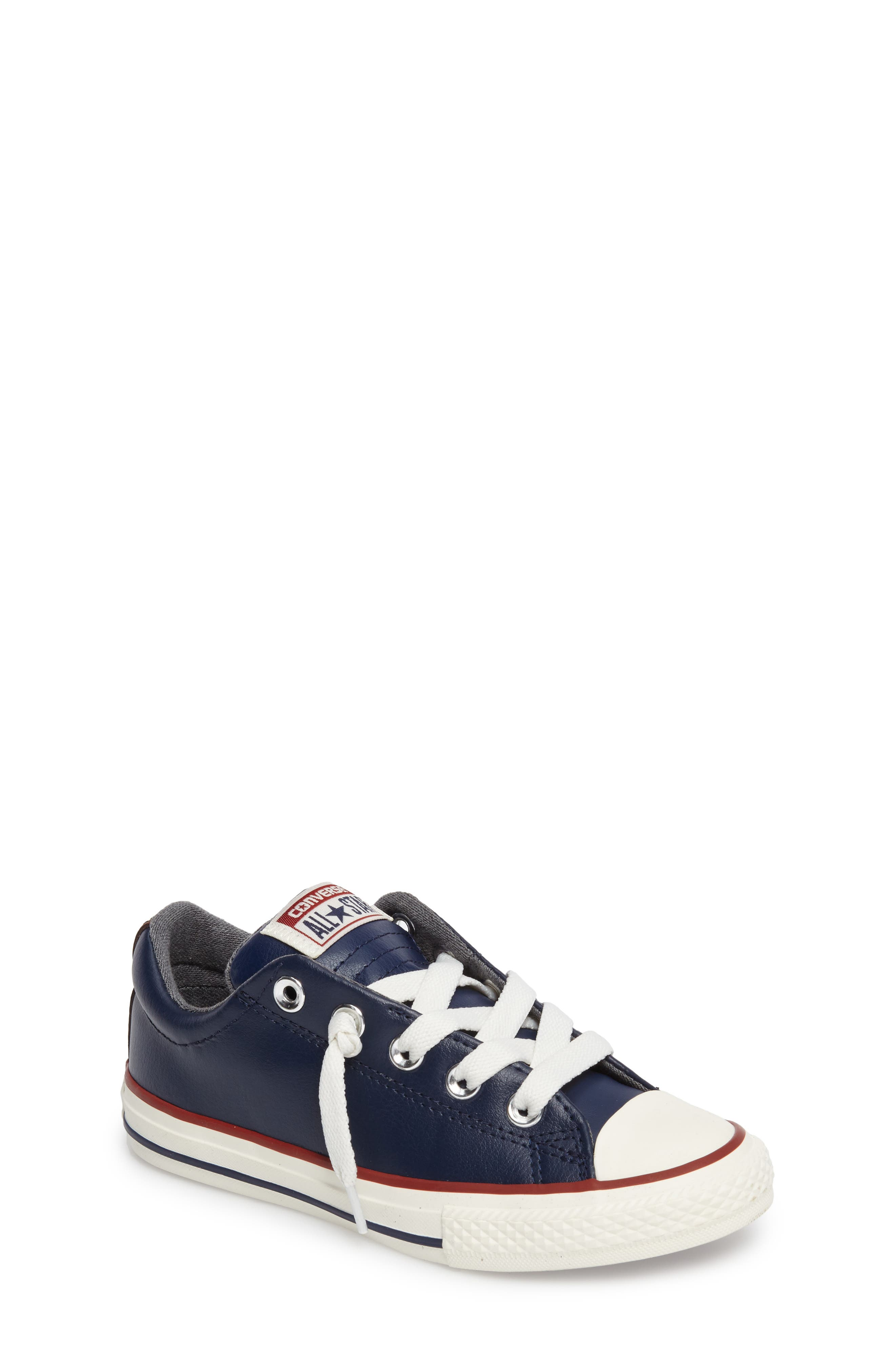 Alternate Image 1 Selected - Converse Chuck Taylor® All Star® 'Street Ox' Sneaker (Baby, Walker, Toddler, Little Kid & Big Kid)