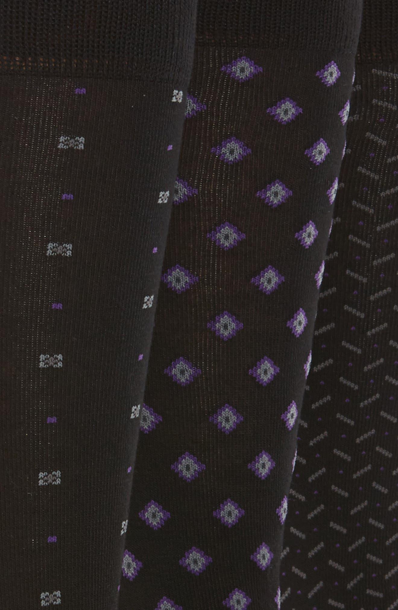 Alternate Image 2  - Polo Ralph Lauren 3-Pack Performance Socks