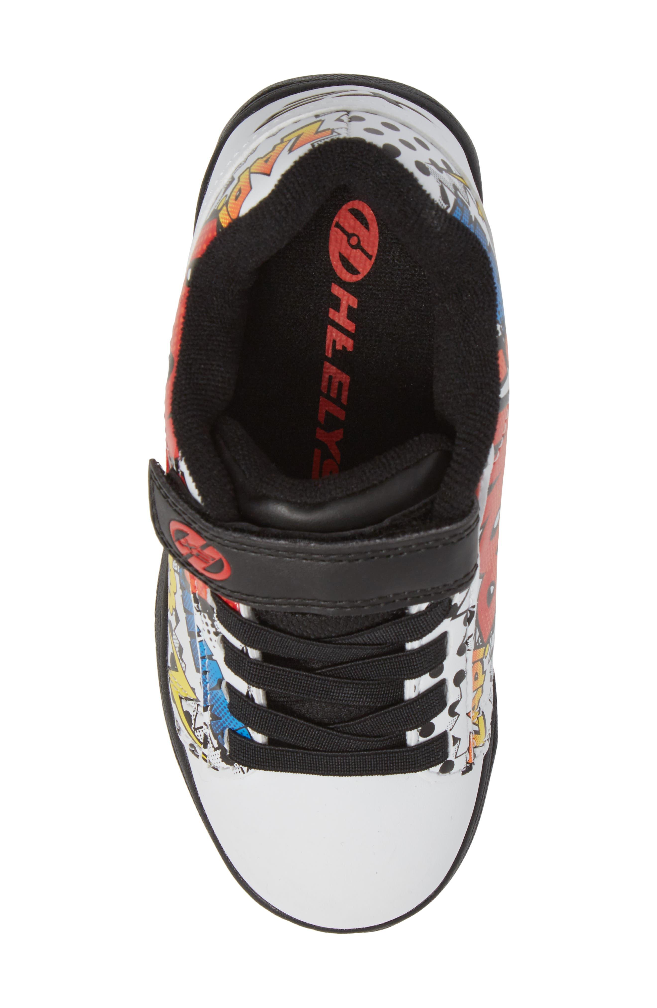 Dual Up X2 Comic Sneaker,                             Alternate thumbnail 5, color,                             White/ Black/ Multi Comic