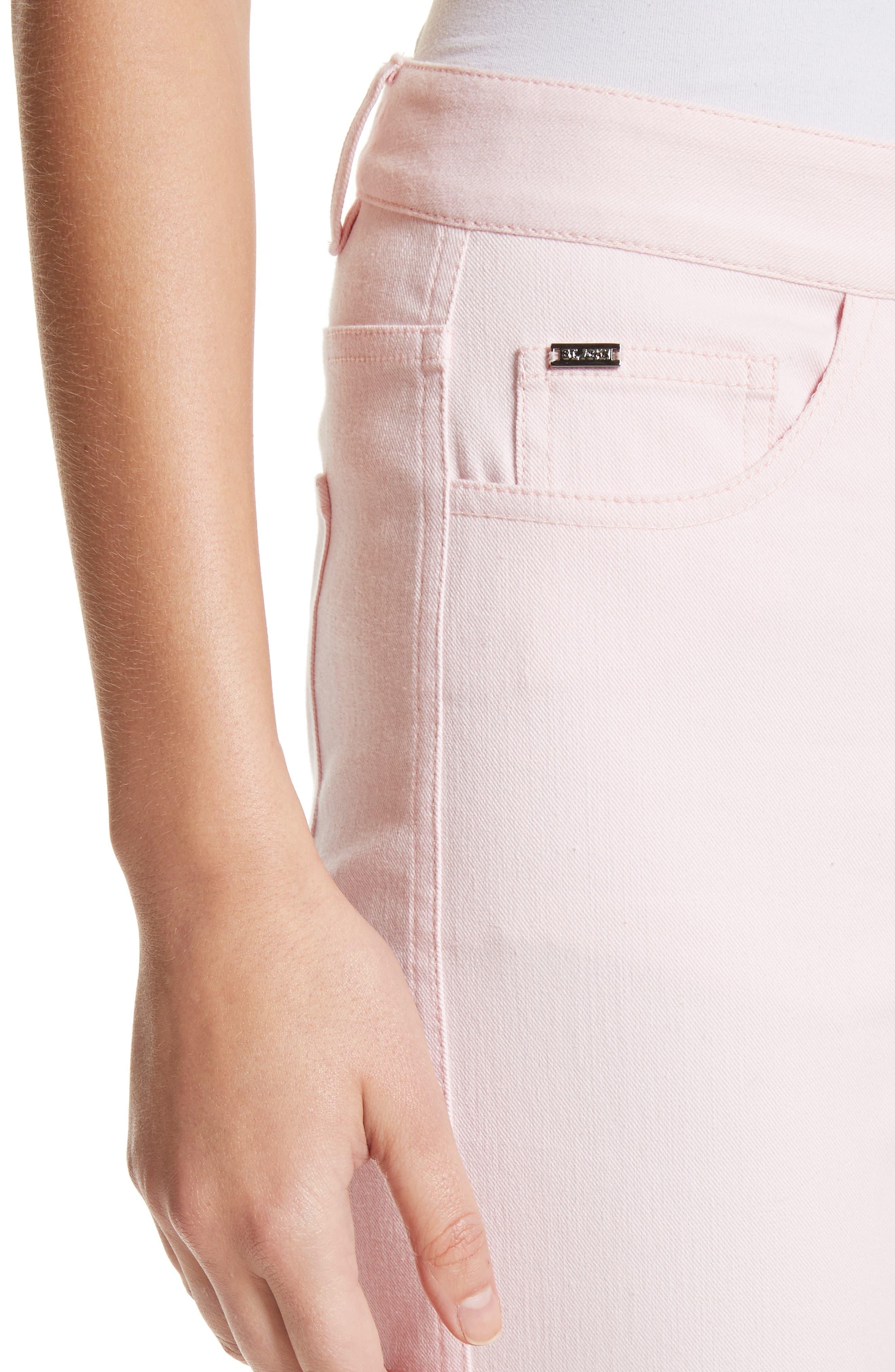 Alternate Image 4  - St. John Collection Bardot Double Dye Stretch Jeans