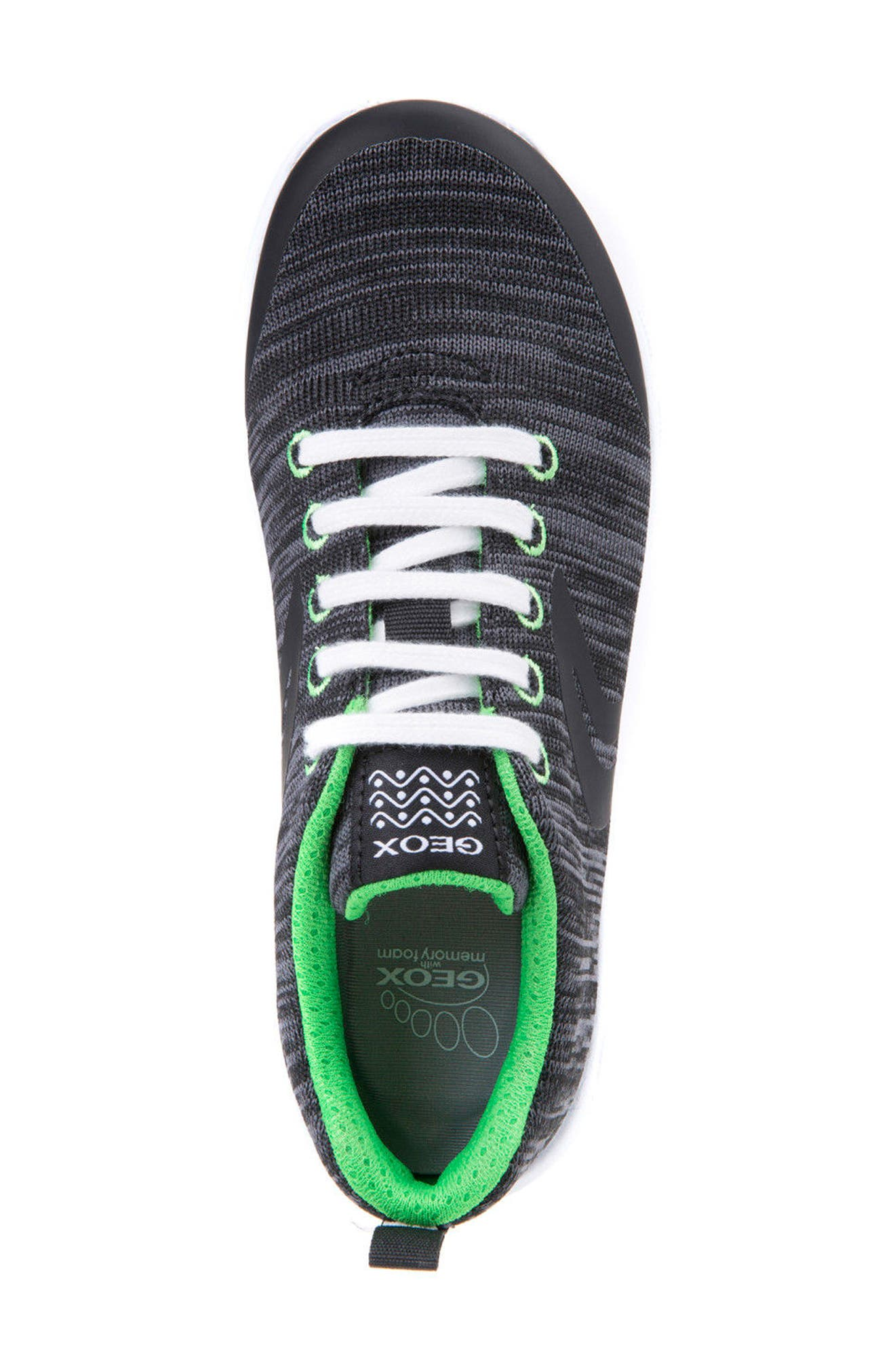Alternate Image 5  - Geox Xunday Performance Knit Low Top Sneaker (Toddler, Little Kid & Big Kid)