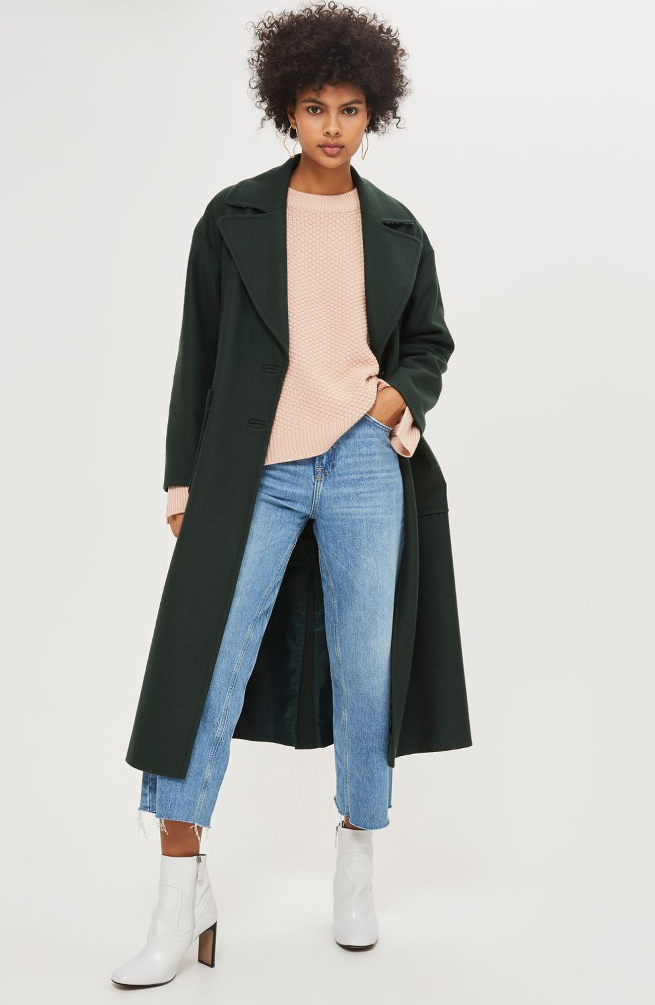 Wide Sleeve Sweater,                             Alternate thumbnail 2, color,                             Nude