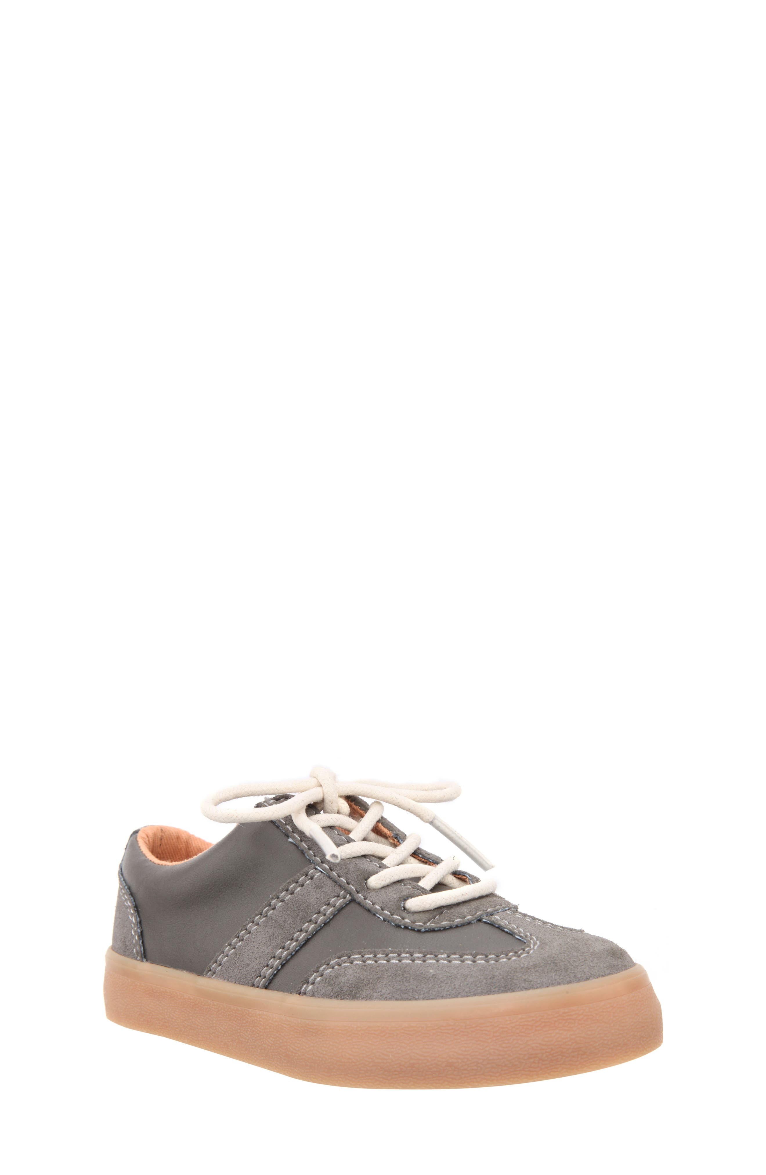 Neal Low Top Sneaker,                             Main thumbnail 1, color,                             Grey Suede