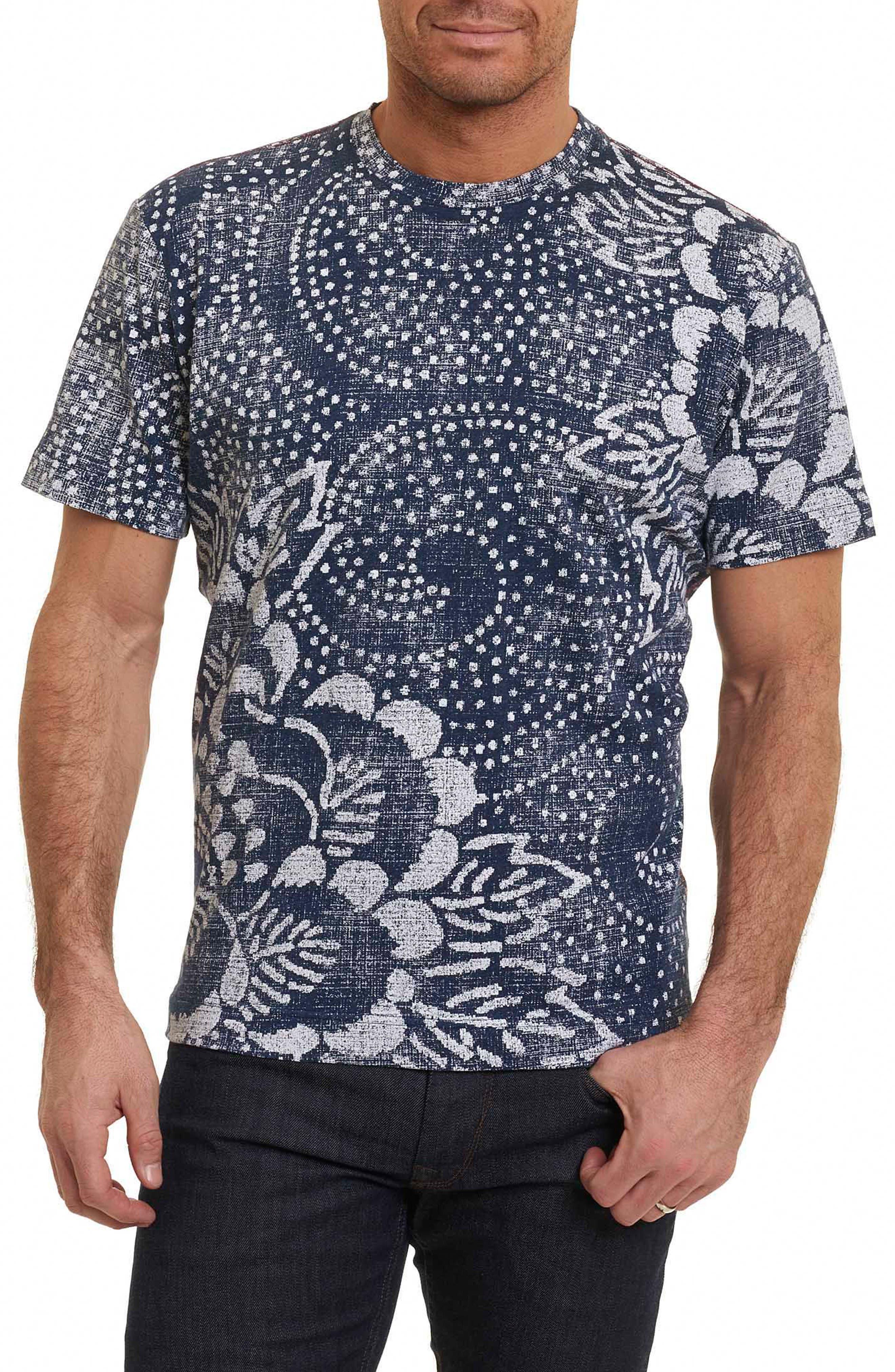 Robert Graham Batik Graphic T-Shirt