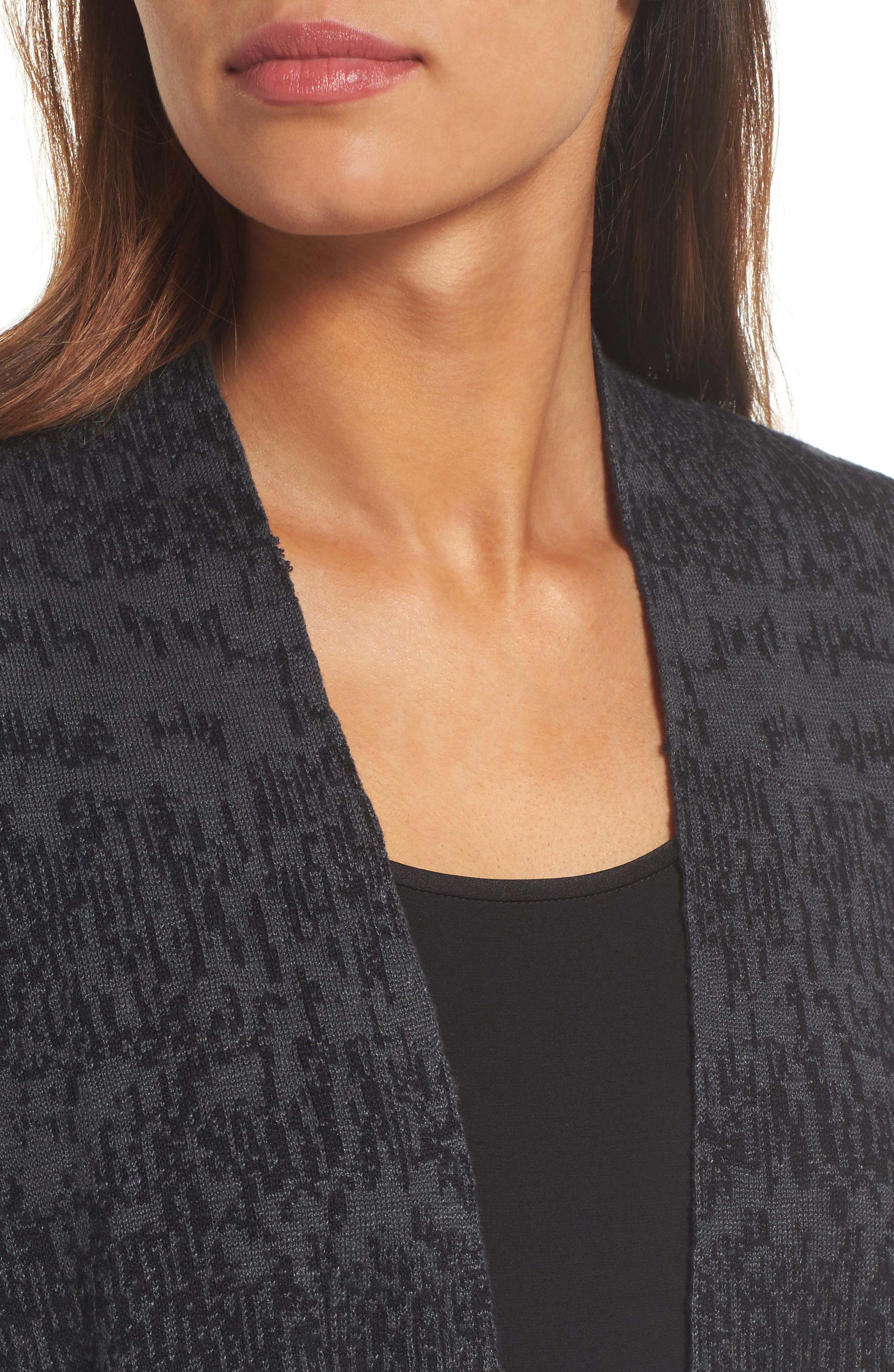Alternate Image 4  - Eileen Fisher Organic Linen & Cotton Cardigan