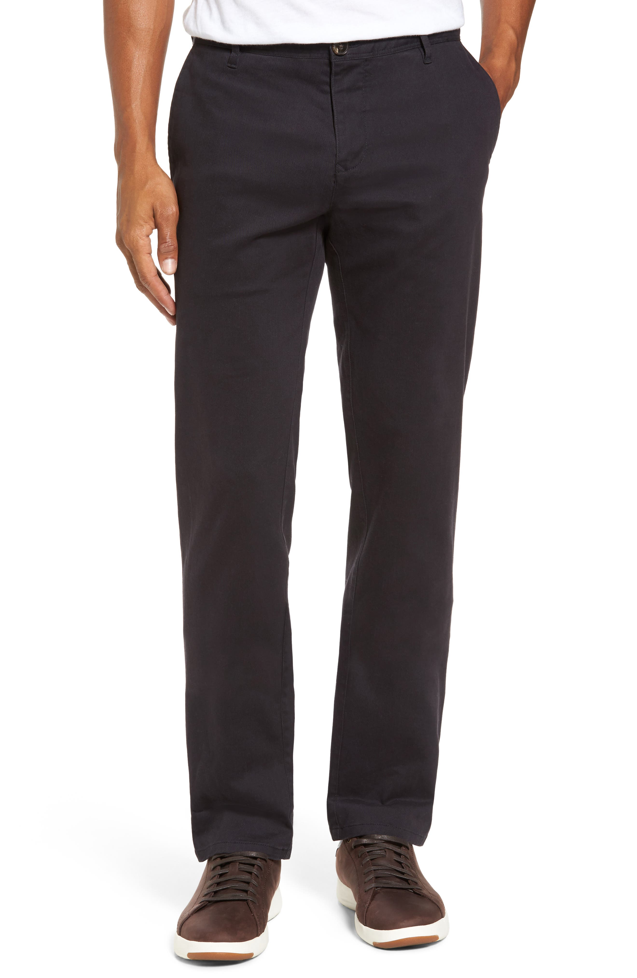 Stanely Brook Custom Fit Chinos,                             Main thumbnail 1, color,                             Twilight