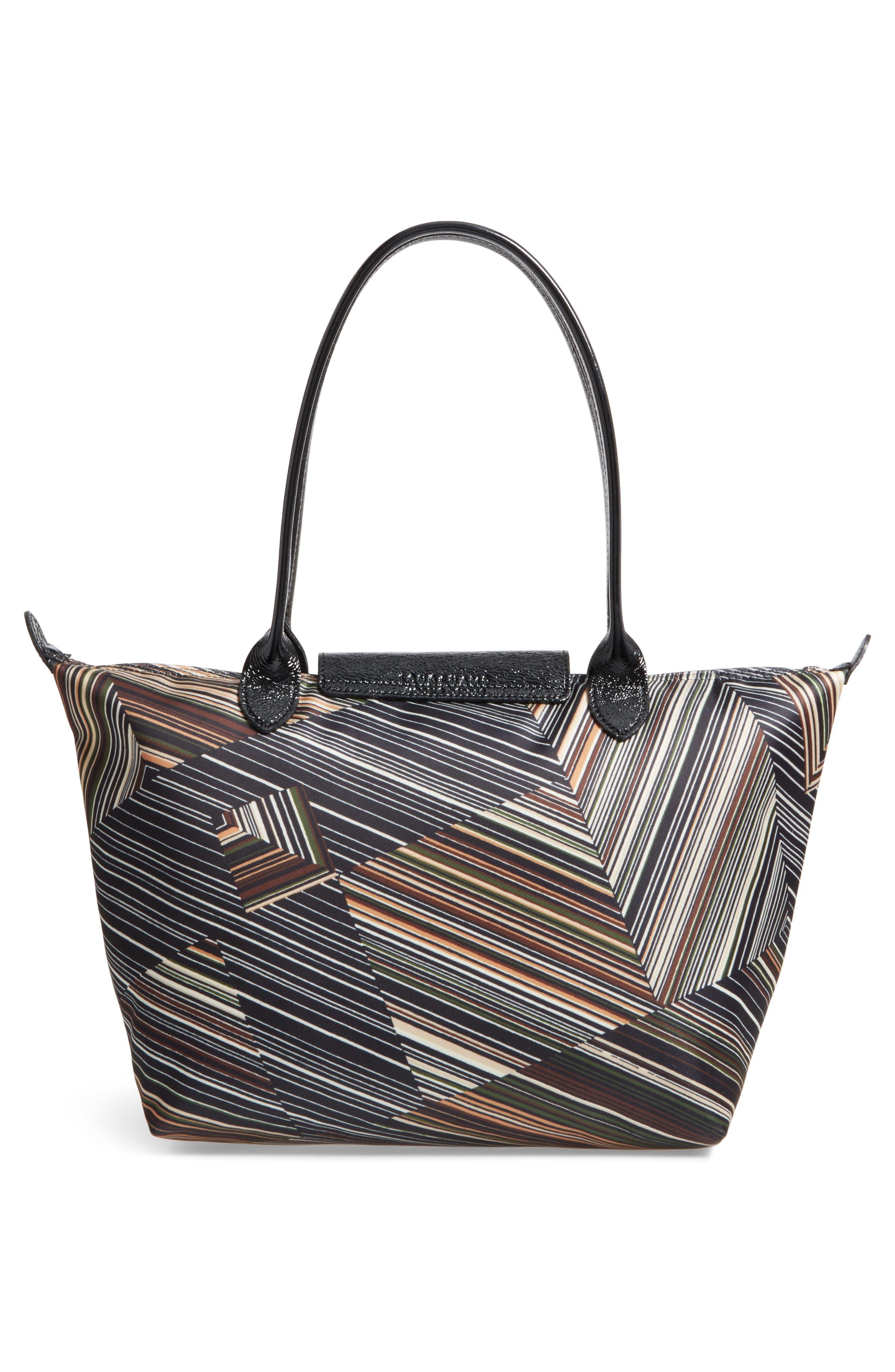 Alternate Image 2  - Longchamp Op Art Nylon Tote