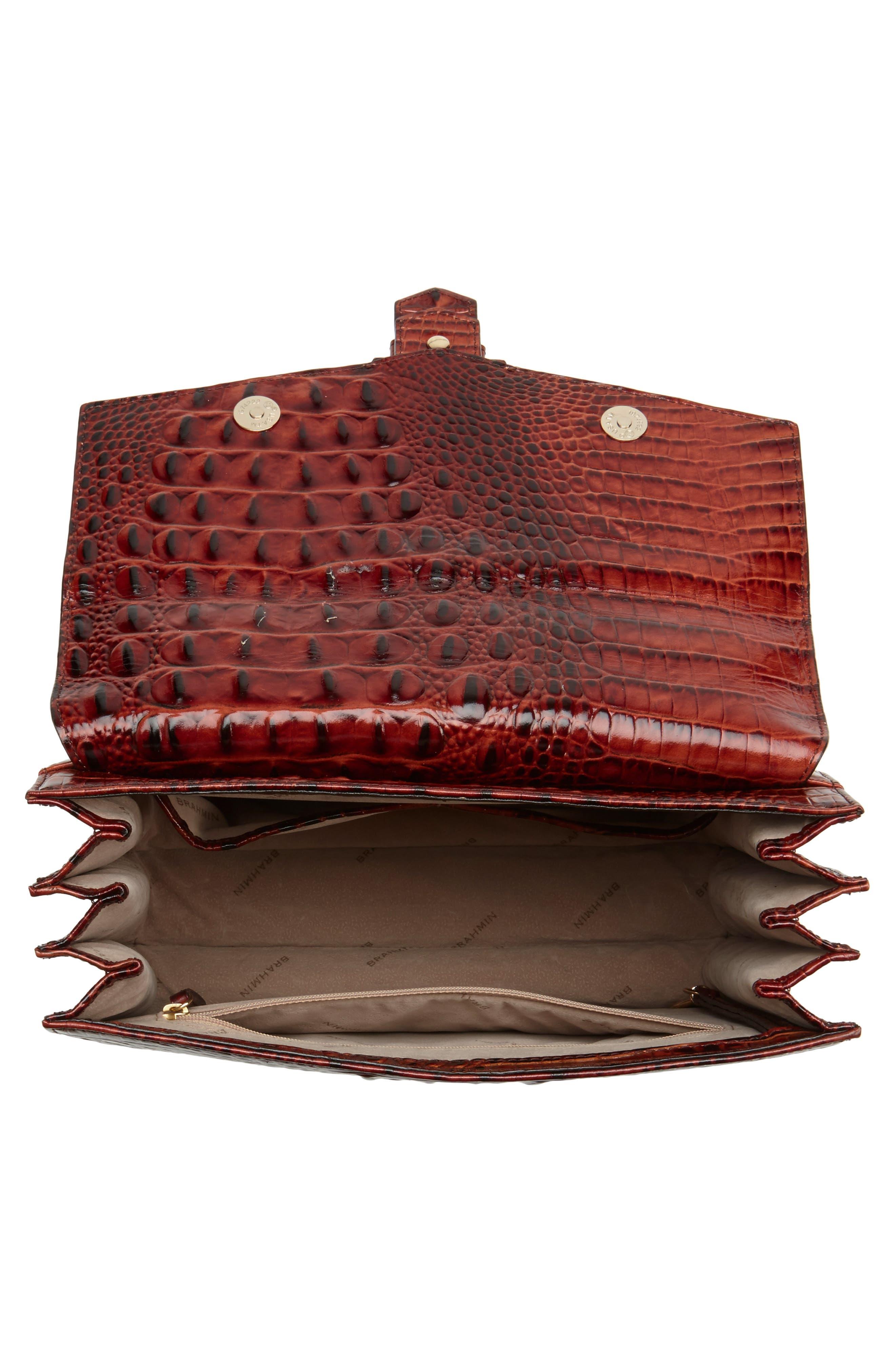 Alternate Image 4  - Brahmin Melbourne Gabriella Embossed Leather Satchel