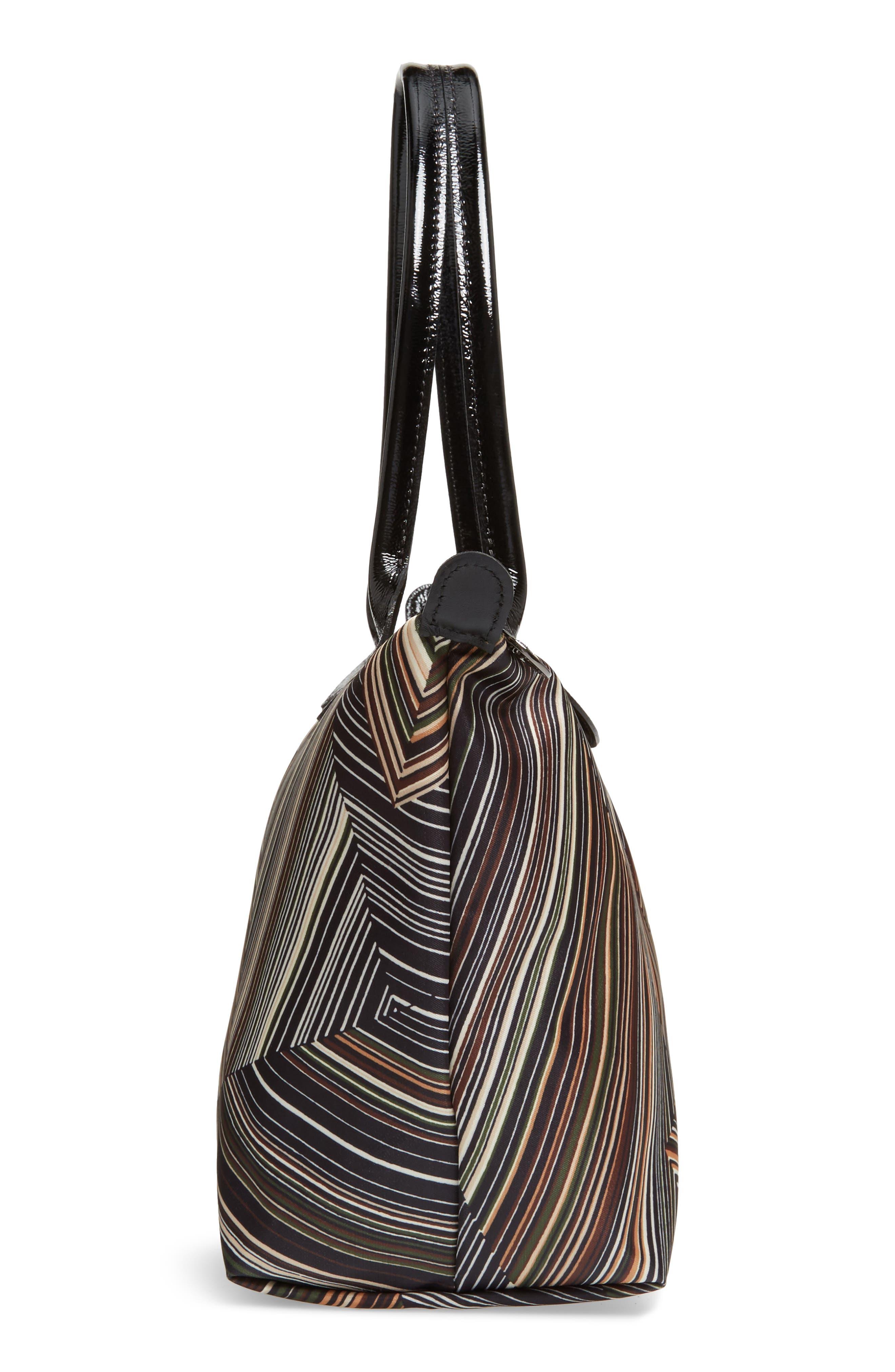 Alternate Image 3  - Longchamp Op Art Nylon Tote