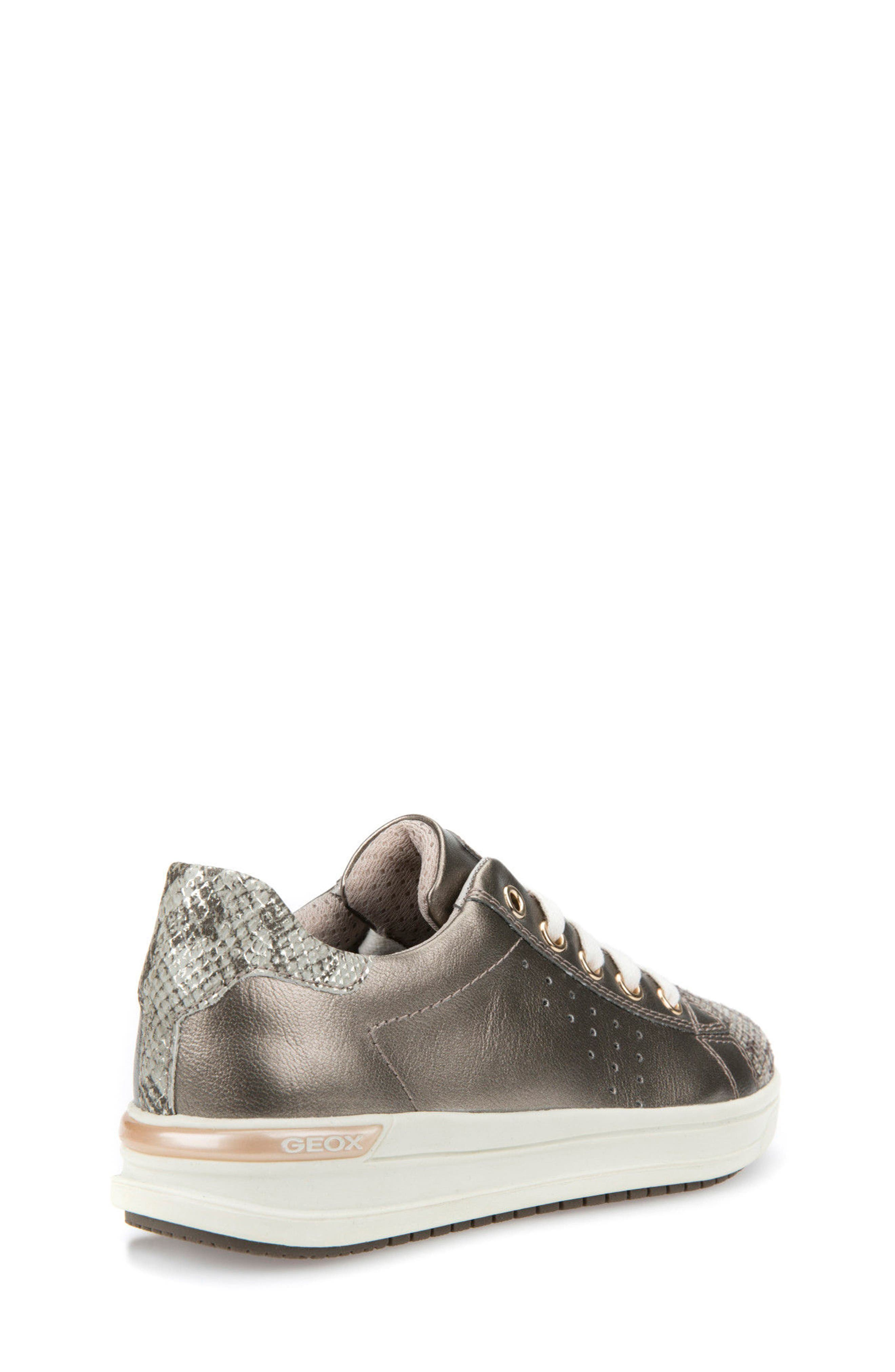 Cave Up Girl Low Top Sneaker,                             Alternate thumbnail 7, color,                             Gold