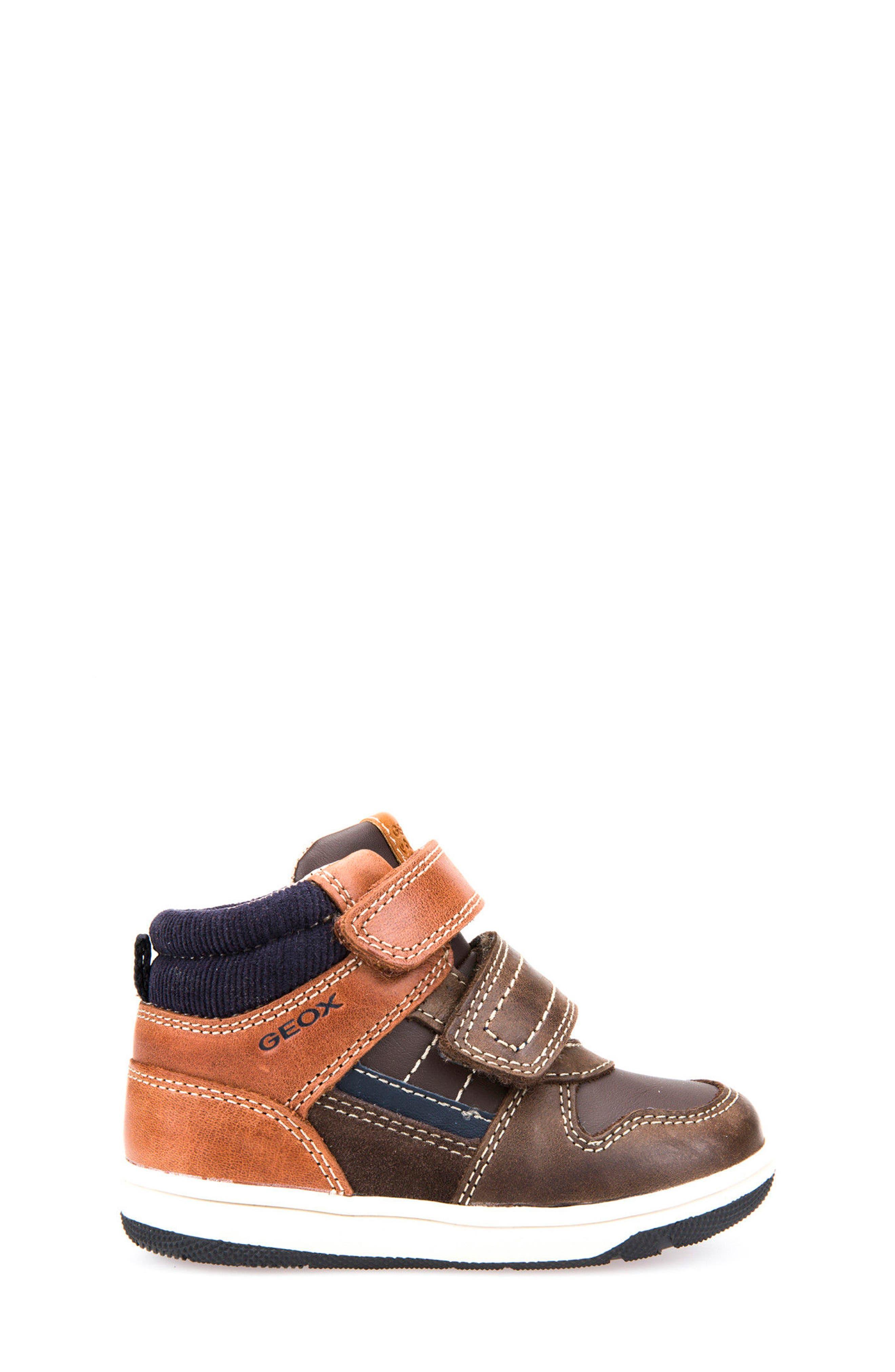 Alternate Image 3  - Geox New Flick Mid Top Sneaker (Walker & Toddler)
