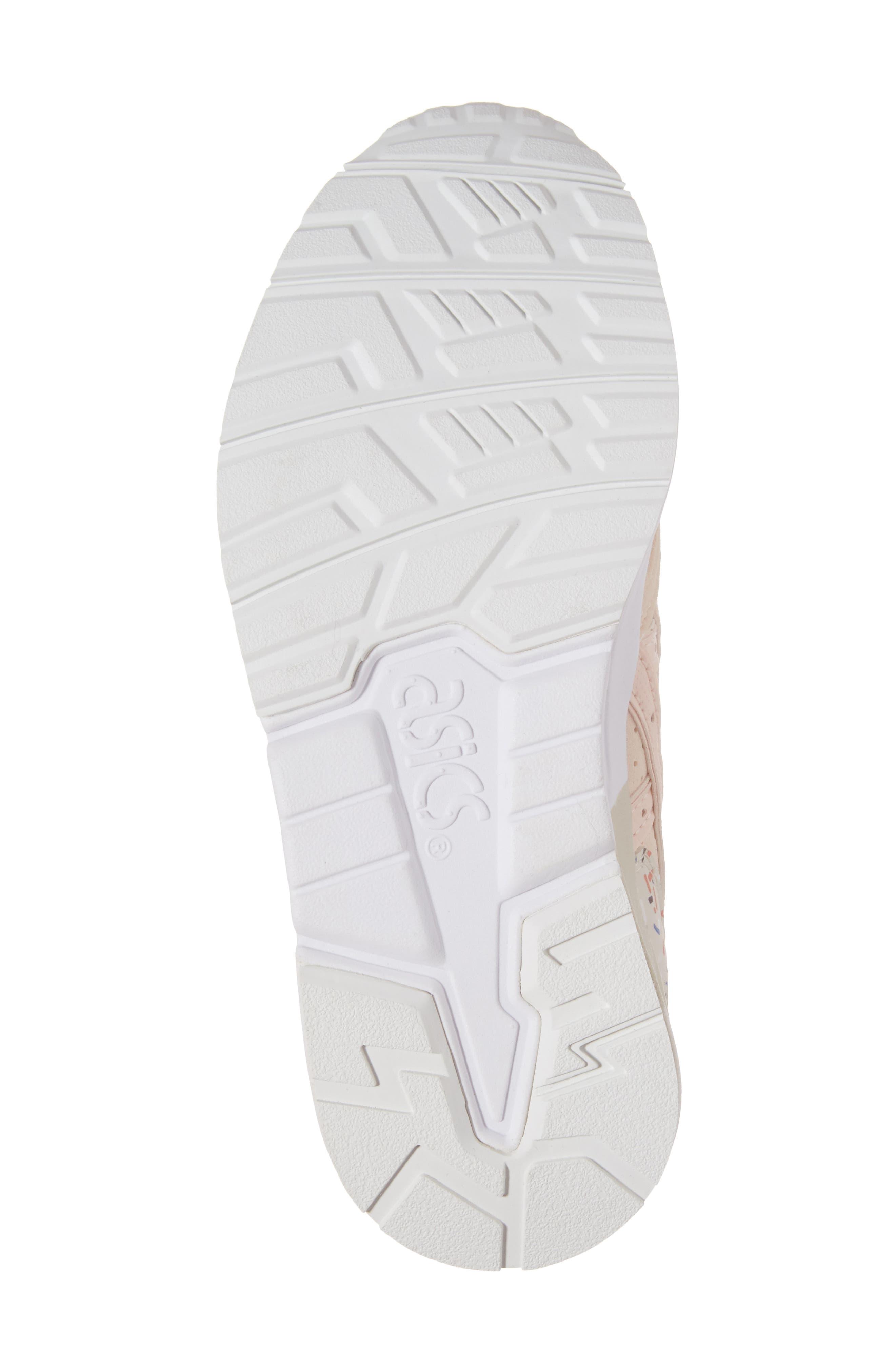 GEL-Lyte V Sneaker,                             Alternate thumbnail 6, color,                             Vanilla Cream/ Vanilla Cream