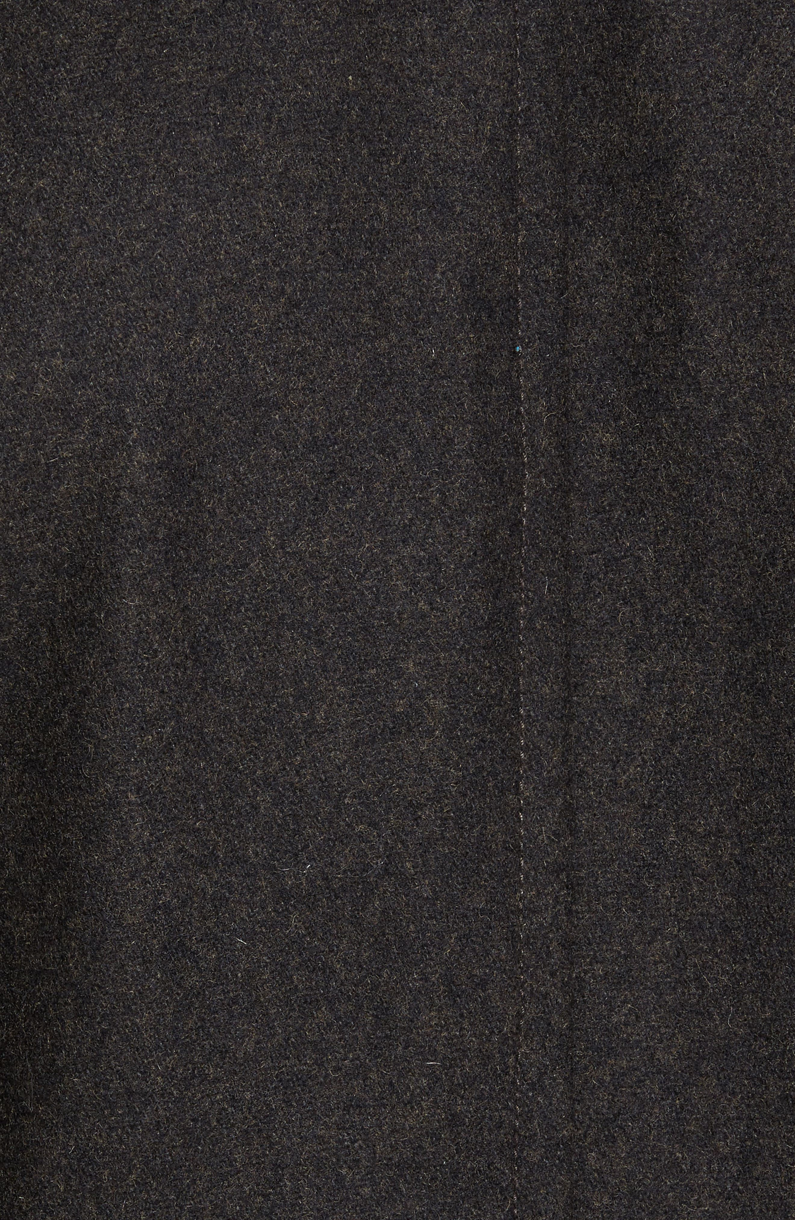 Wool Blend Peacoat,                             Alternate thumbnail 5, color,                             Loden Heather