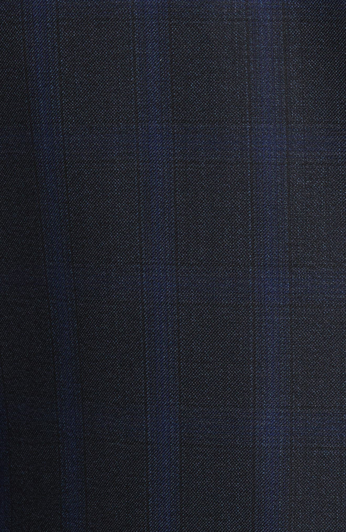 Alternate Image 7  - Canali Classic Fit Plaid Wool Suit