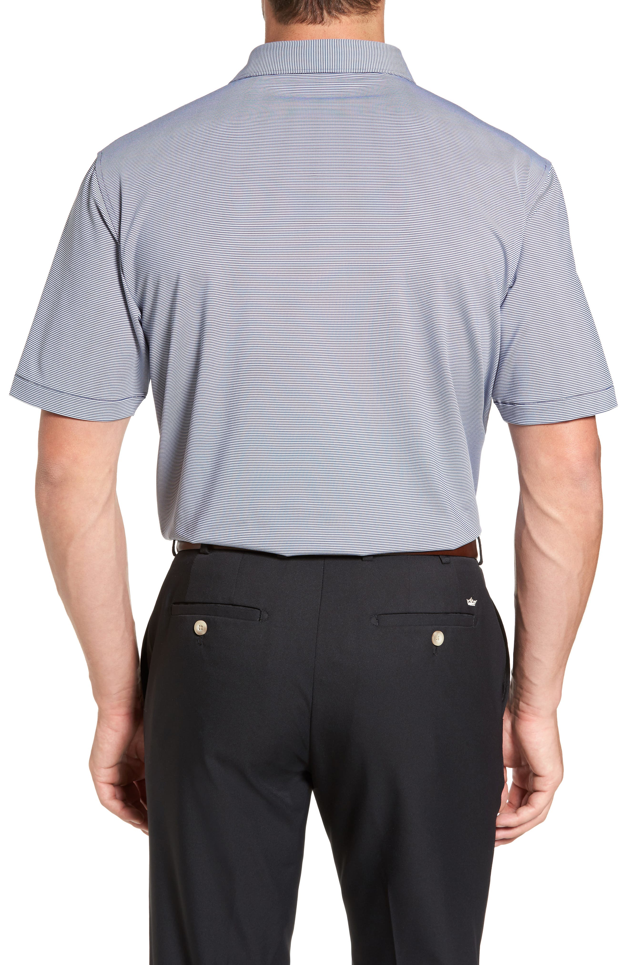 Alternate Image 2  - Peter Millar Sean Jubilee Stripe Jersey Polo