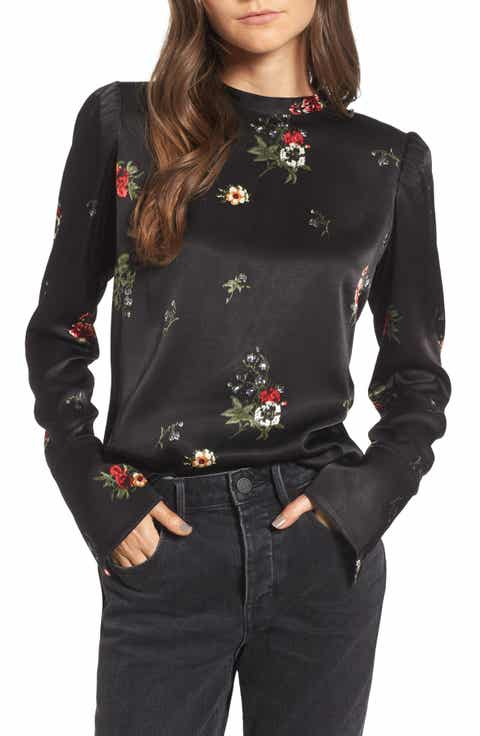 Women's Long Sleeve Tops & Tees | Nordstrom
