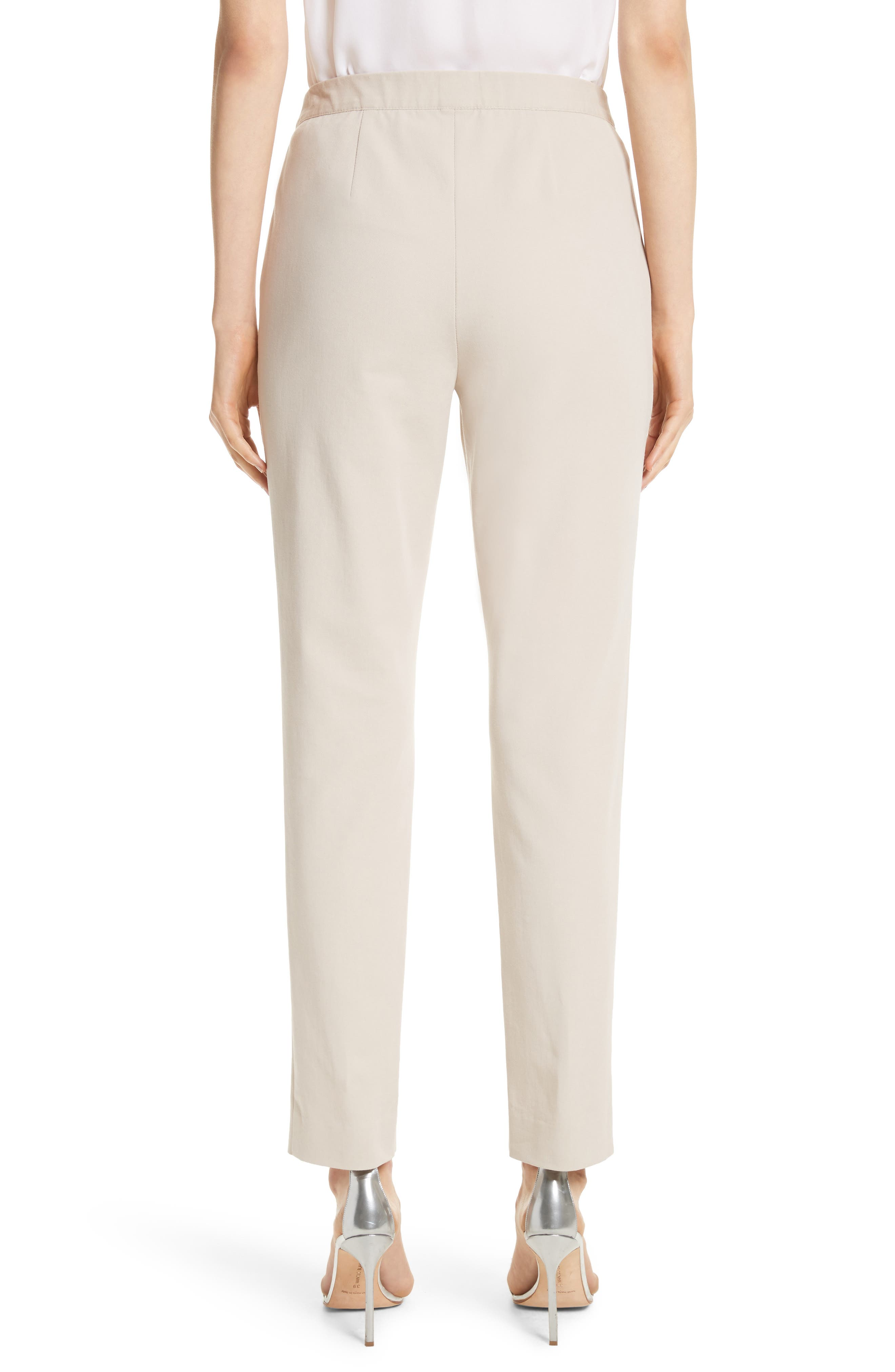 Alternate Image 2  - St. John Collection Fine Stretch Twill Pants