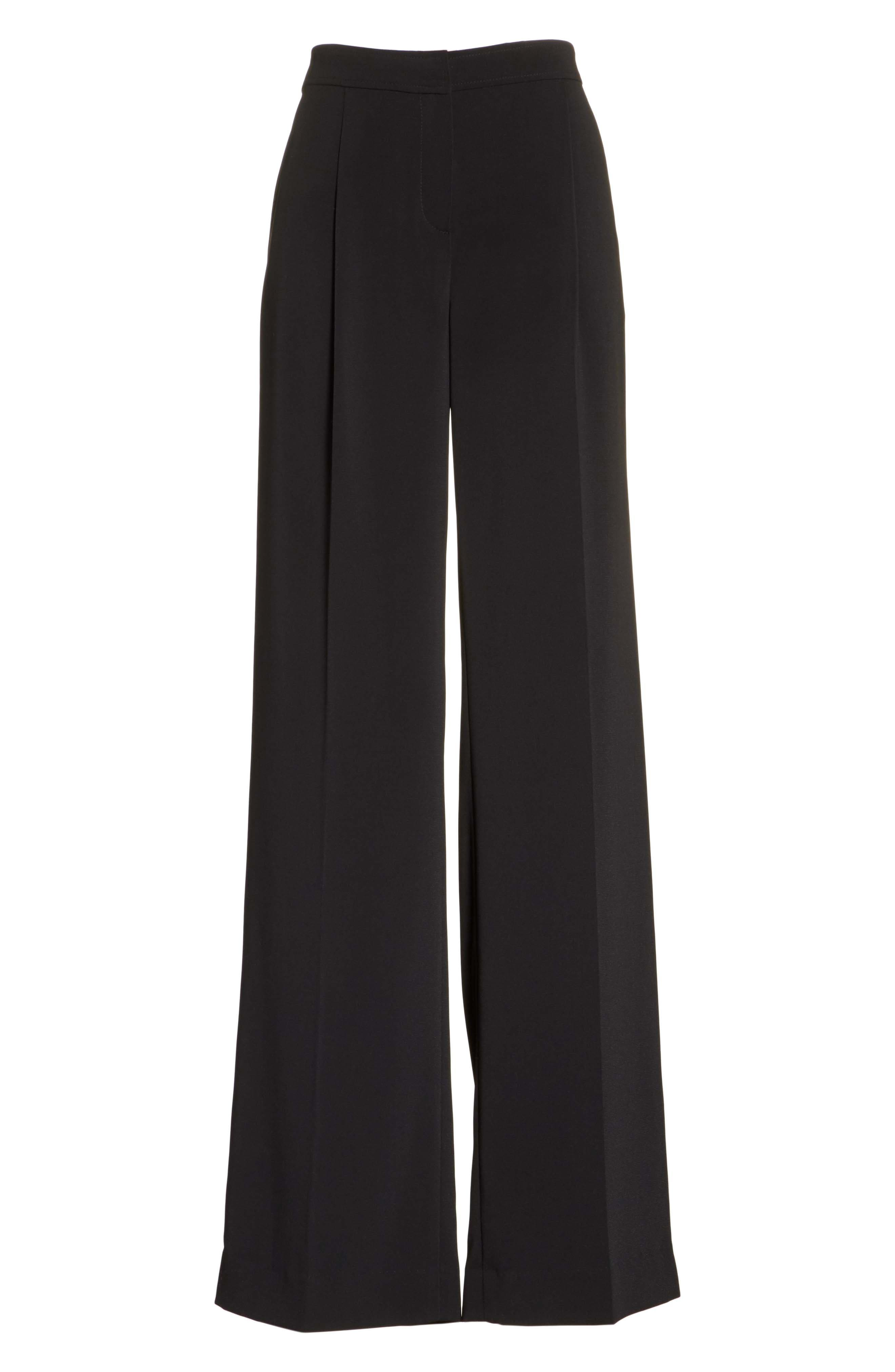 Alternate Image 6  - St. John Collection Classic Stretch Cady Pants