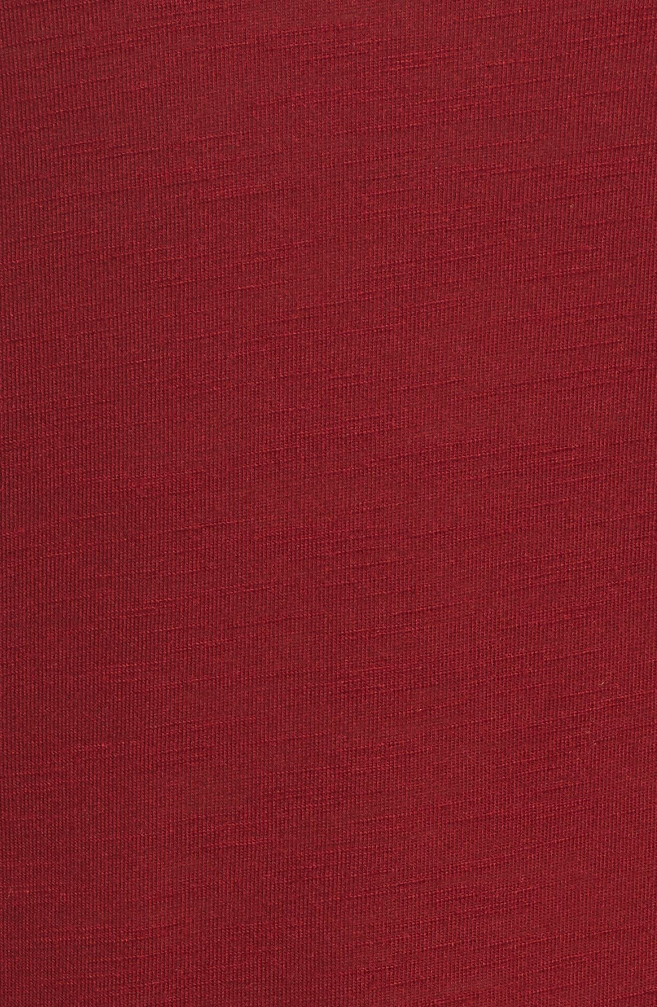 Originals Long Sleeve Tee,                             Alternate thumbnail 6, color,                             Collegiate Burgundy