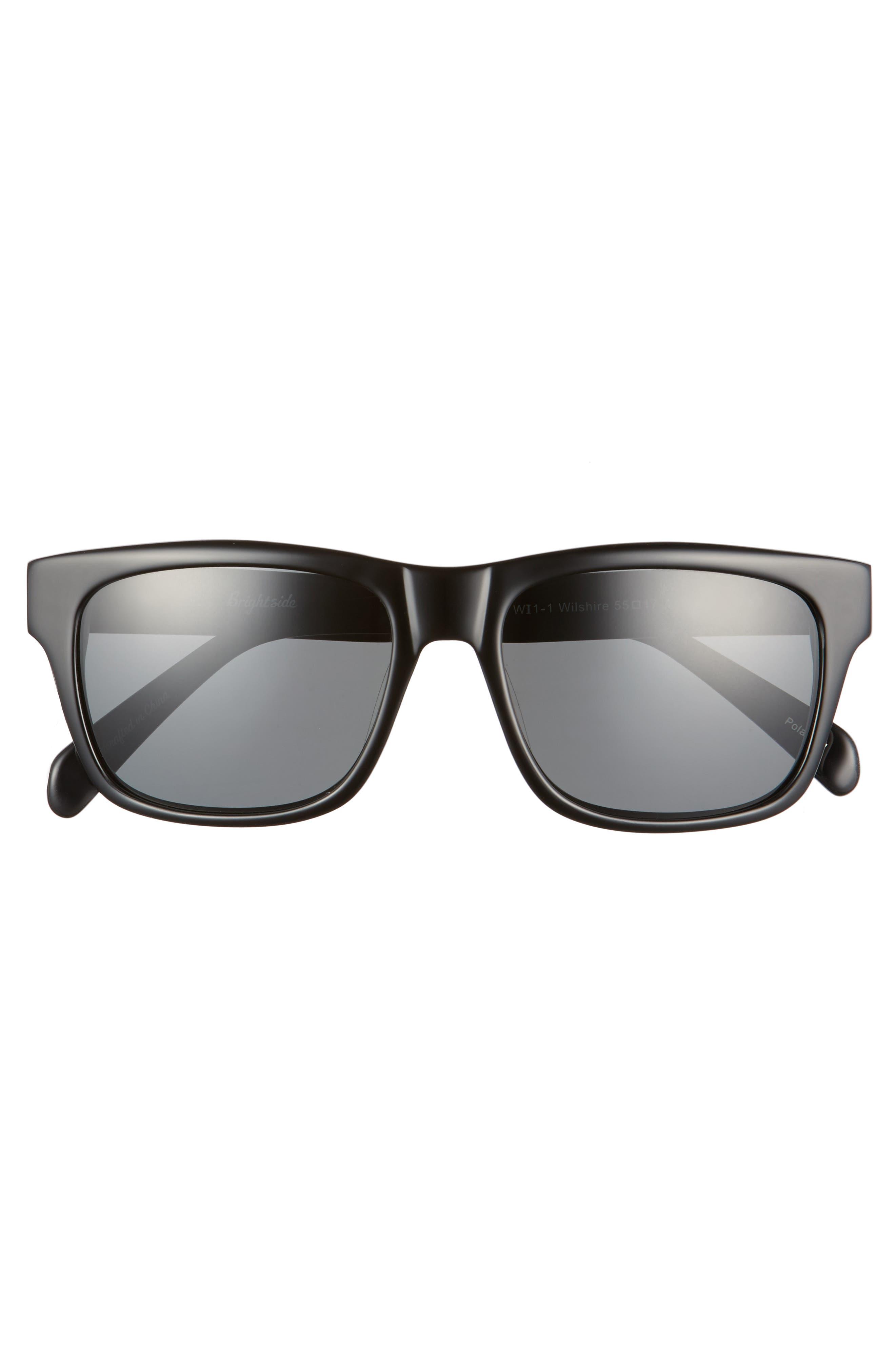 Alternate Image 3  - Brightside Wilshire 55mm Polarized Sunglasses
